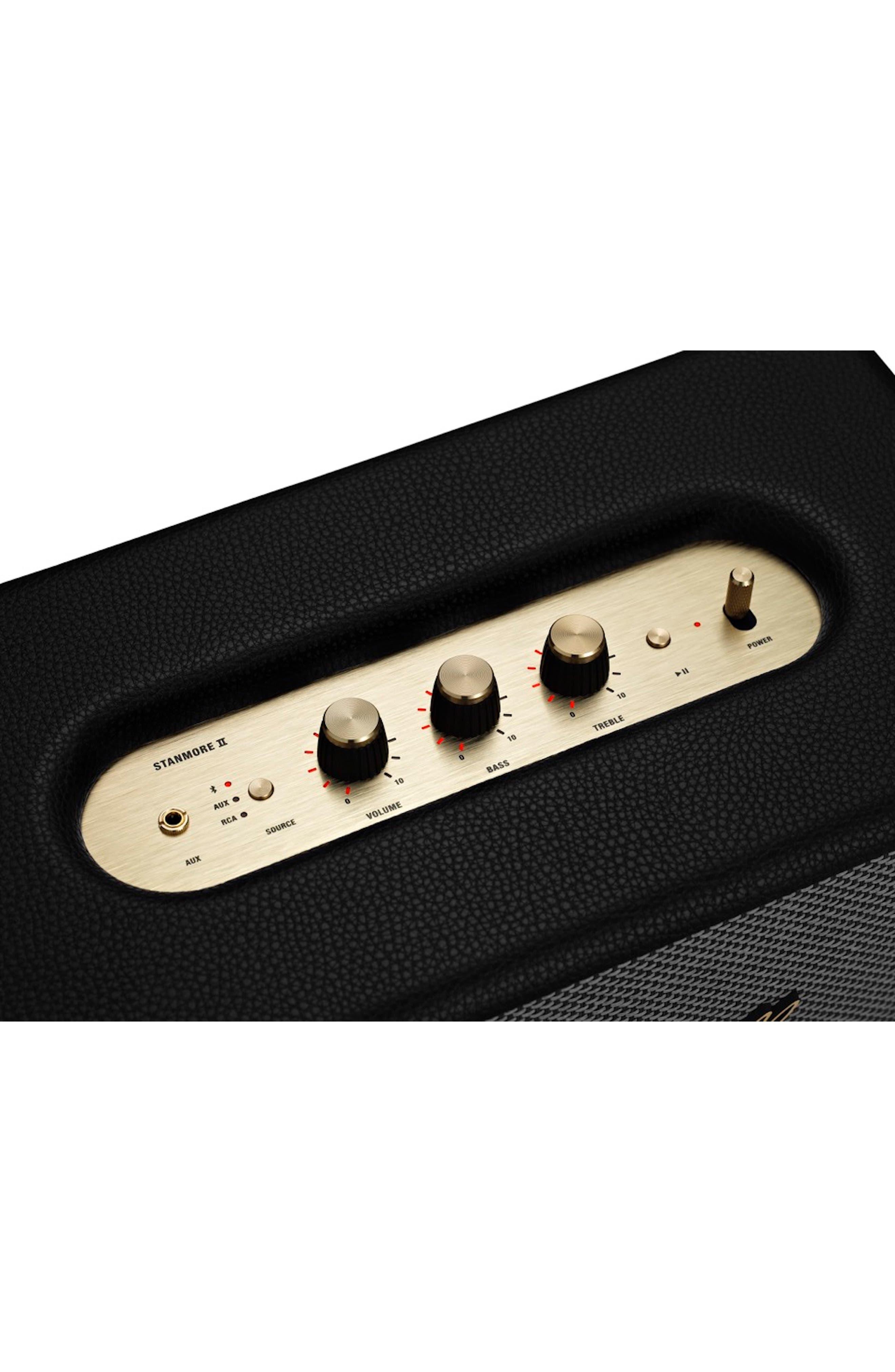 MARSHALL,                             Stanmore II Bluetooth<sup>®</sup> Speaker,                             Alternate thumbnail 2, color,                             BLACK