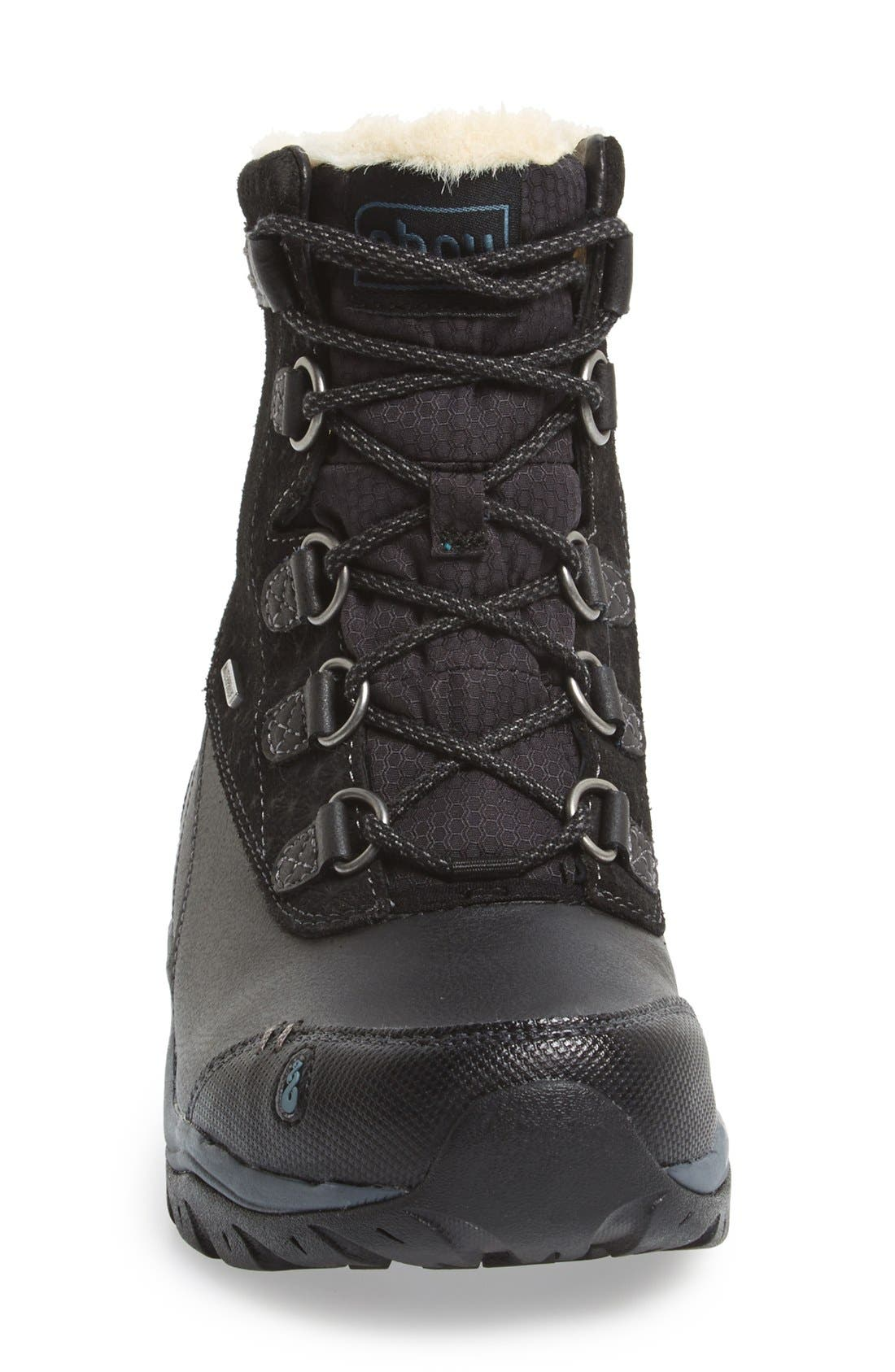 'Twain Harte' Insulated Waterproof Boot,                             Alternate thumbnail 4, color,                             001