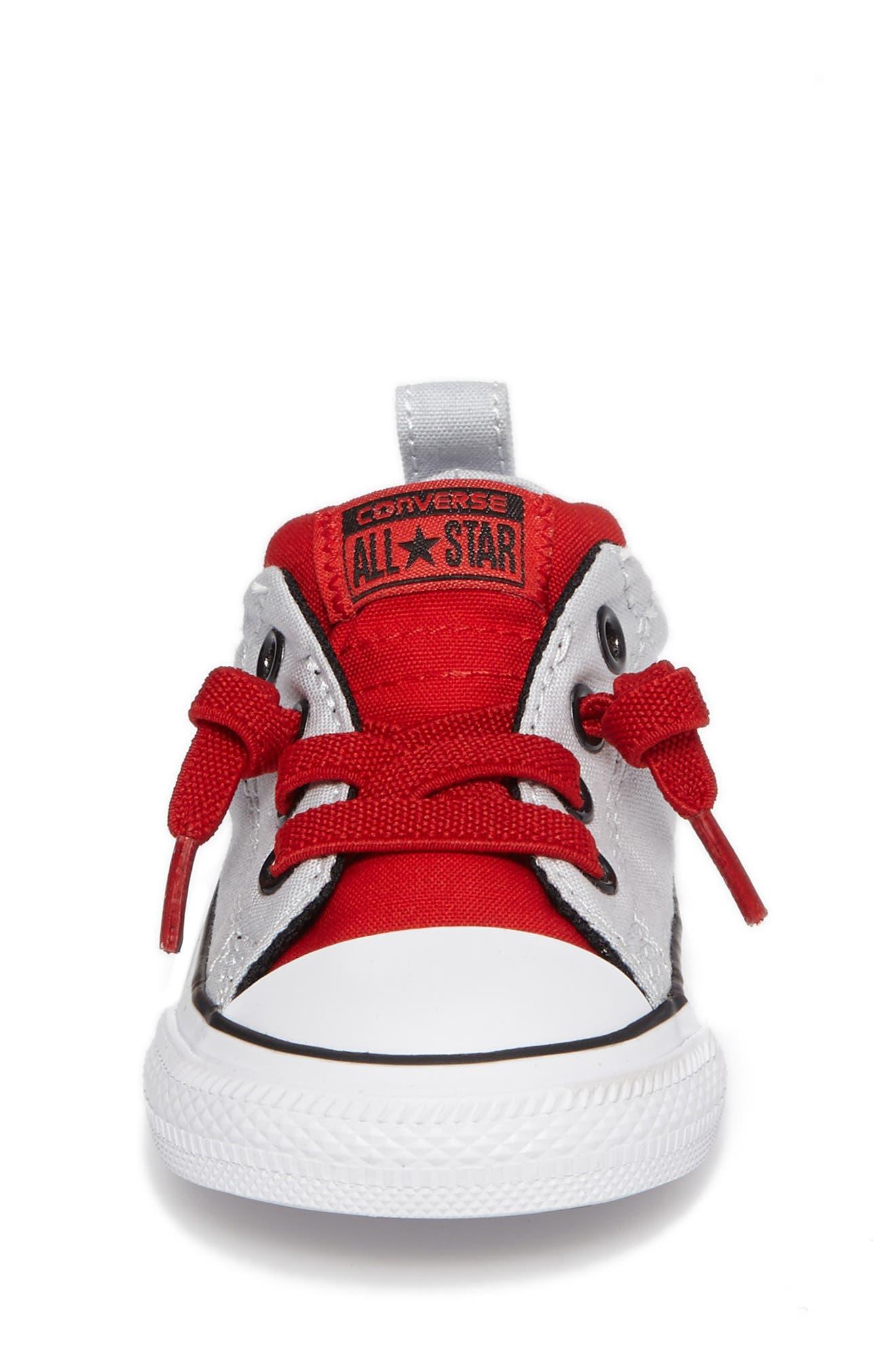 All Star<sup>®</sup> Street Slip Low Top Sneaker,                             Alternate thumbnail 4, color,                             040
