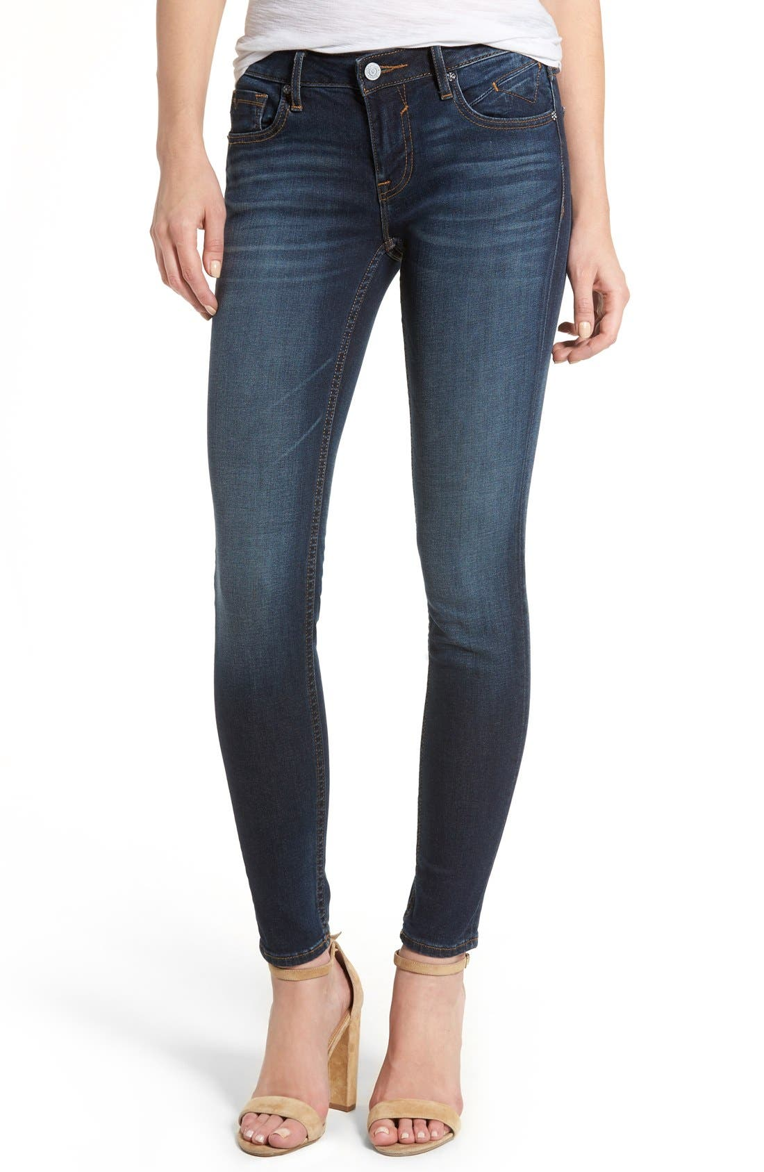 Jagger Skinny Jeans,                             Main thumbnail 1, color,                             DARK