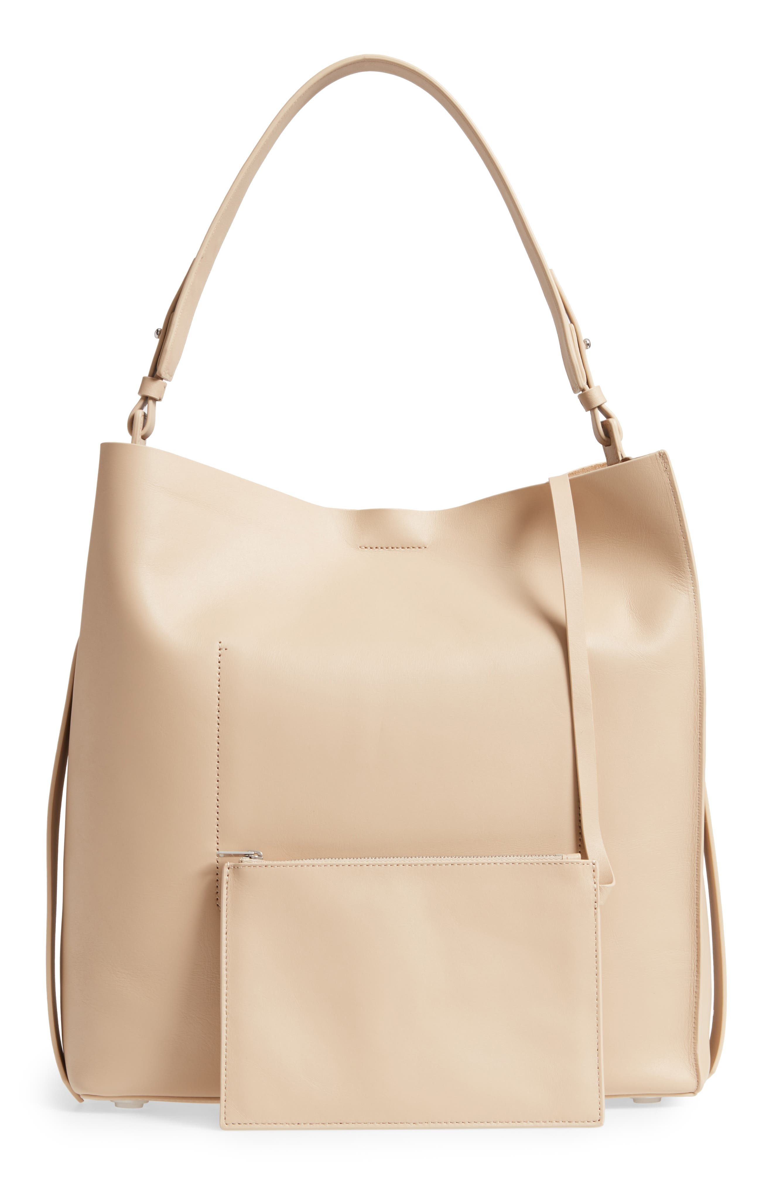 'Paradise North/South' Calfskin Leather Tote,                             Alternate thumbnail 3, color,                             108