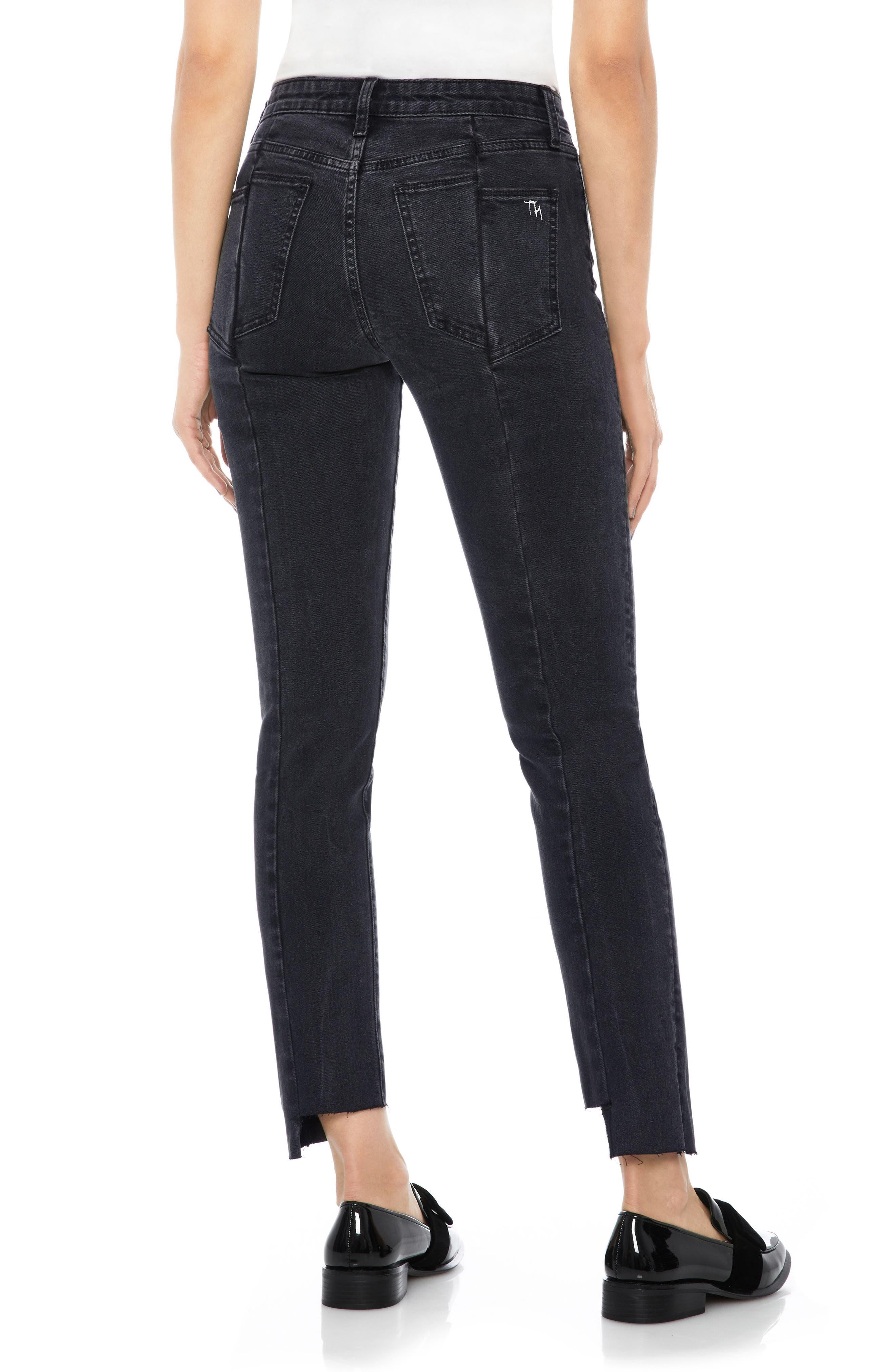 Taylor Hill x Joe's Kass Raw Step Hem Ankle Skinny Jeans,                             Alternate thumbnail 2, color,                             011
