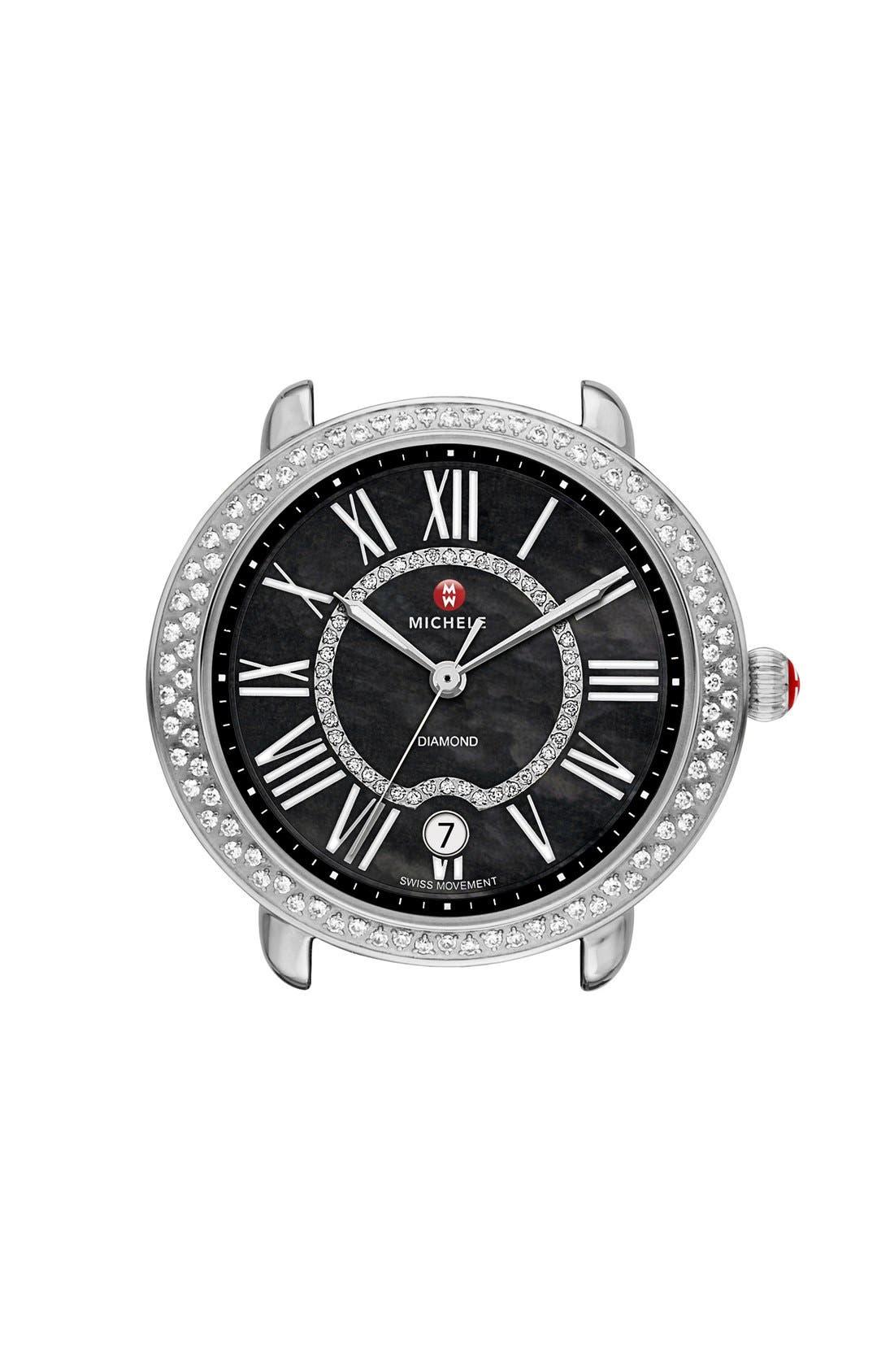 Serein 16 Diamond Watch Case, 34mm x 36mm,                             Main thumbnail 3, color,