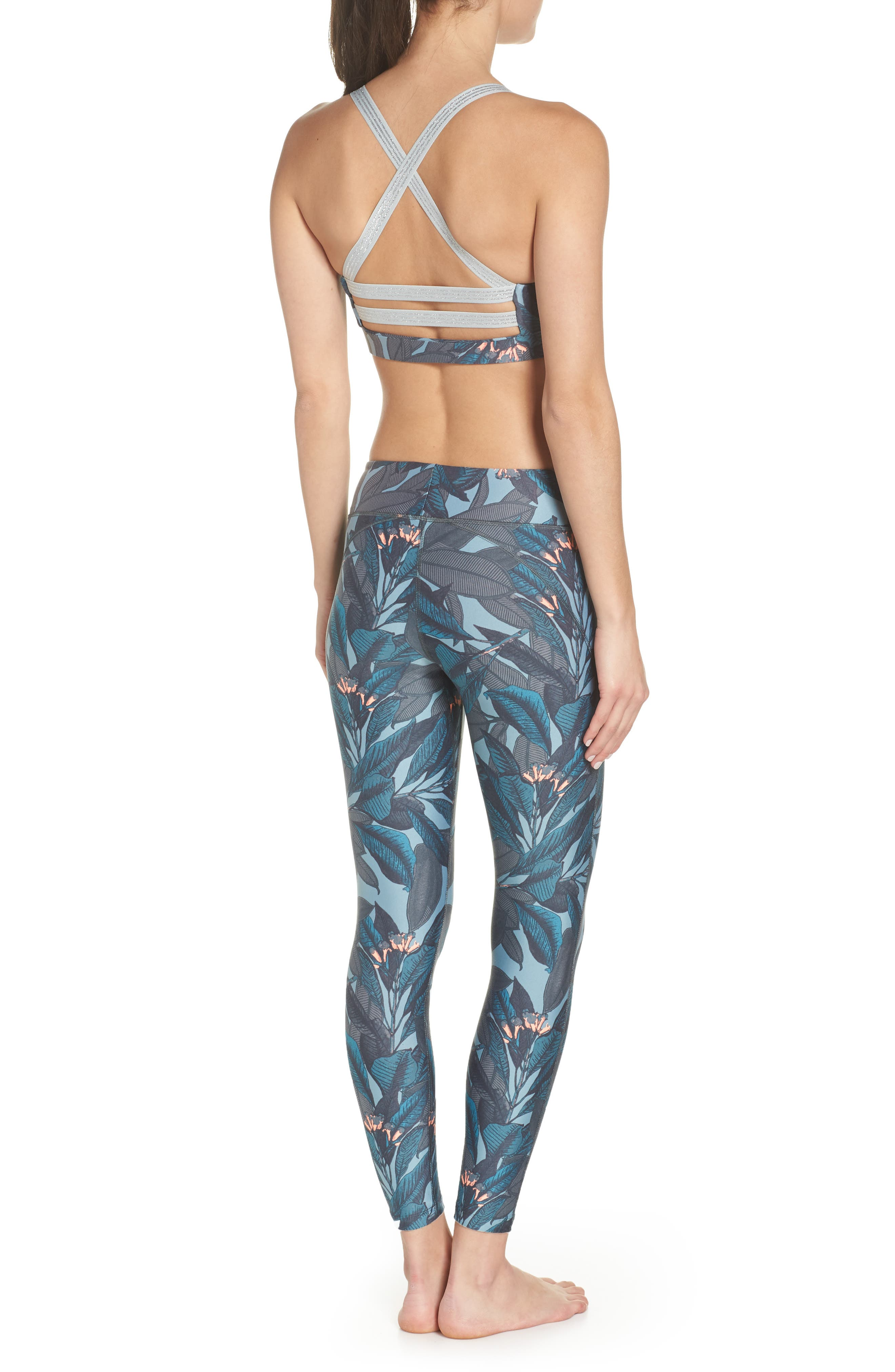 Dazzling Jungle Leggings,                             Alternate thumbnail 19, color,