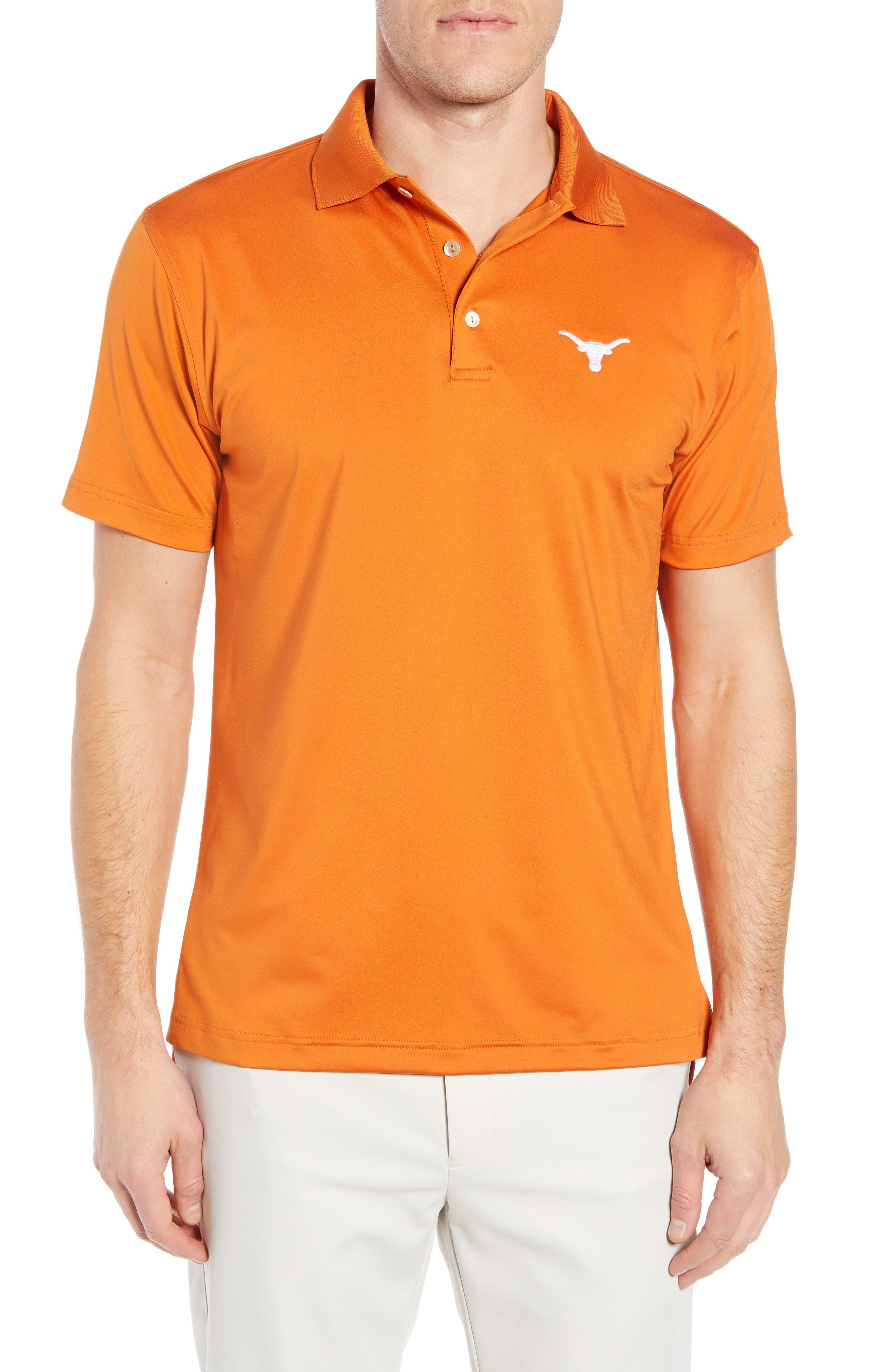 Texas Solid Performance Polo Shirt,                             Main thumbnail 1, color,                             600