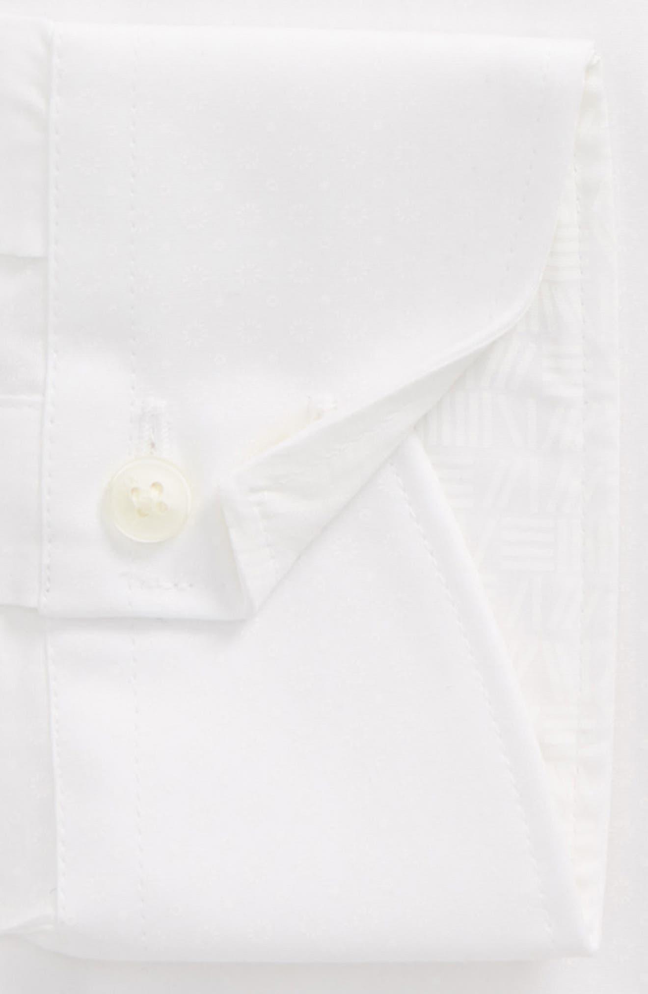 Loops Slim Fit Dress Shirt,                             Alternate thumbnail 6, color,                             110
