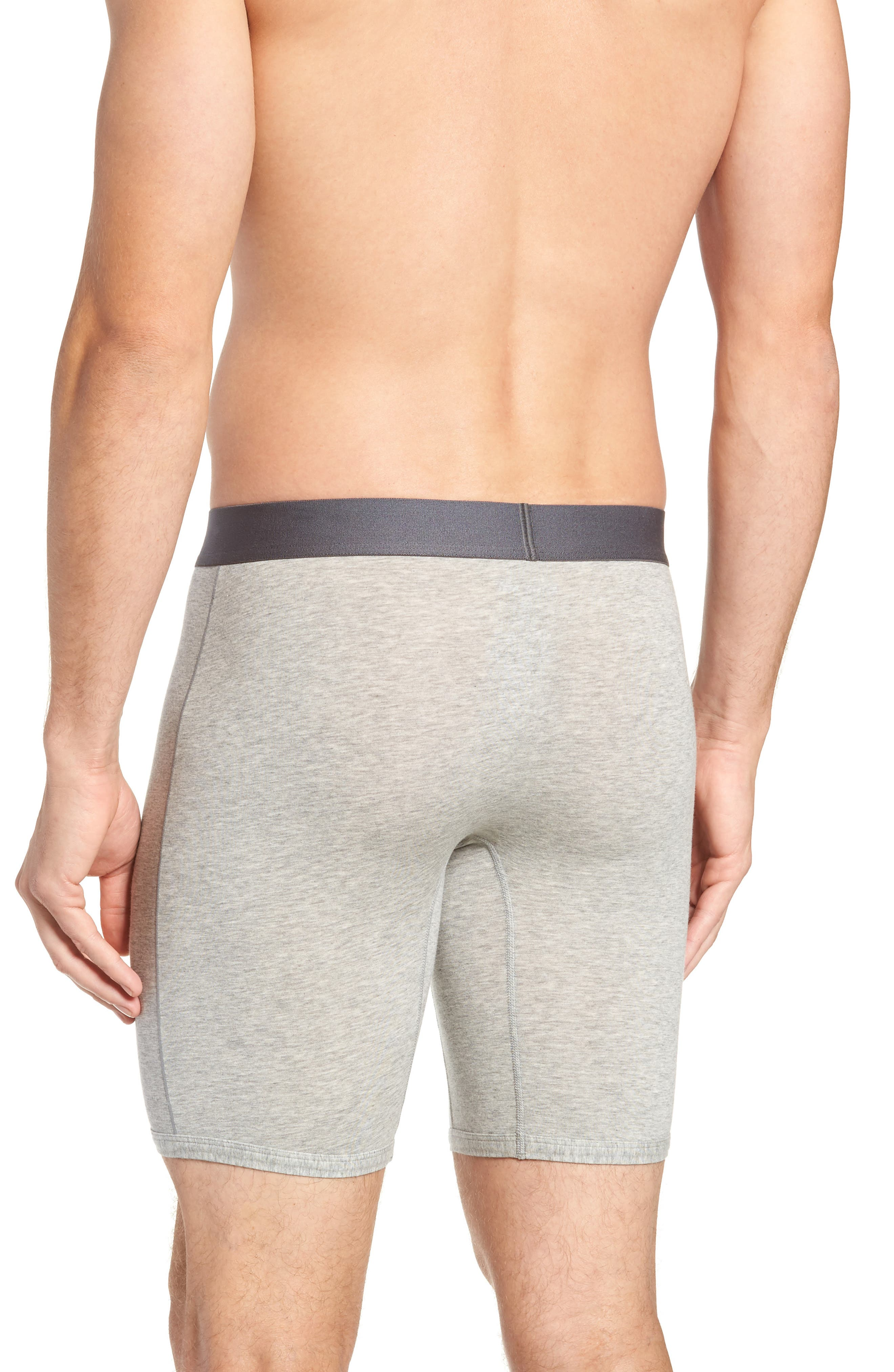 Cool Cotton Briefs,                             Alternate thumbnail 2, color,                             GREY HEATHER