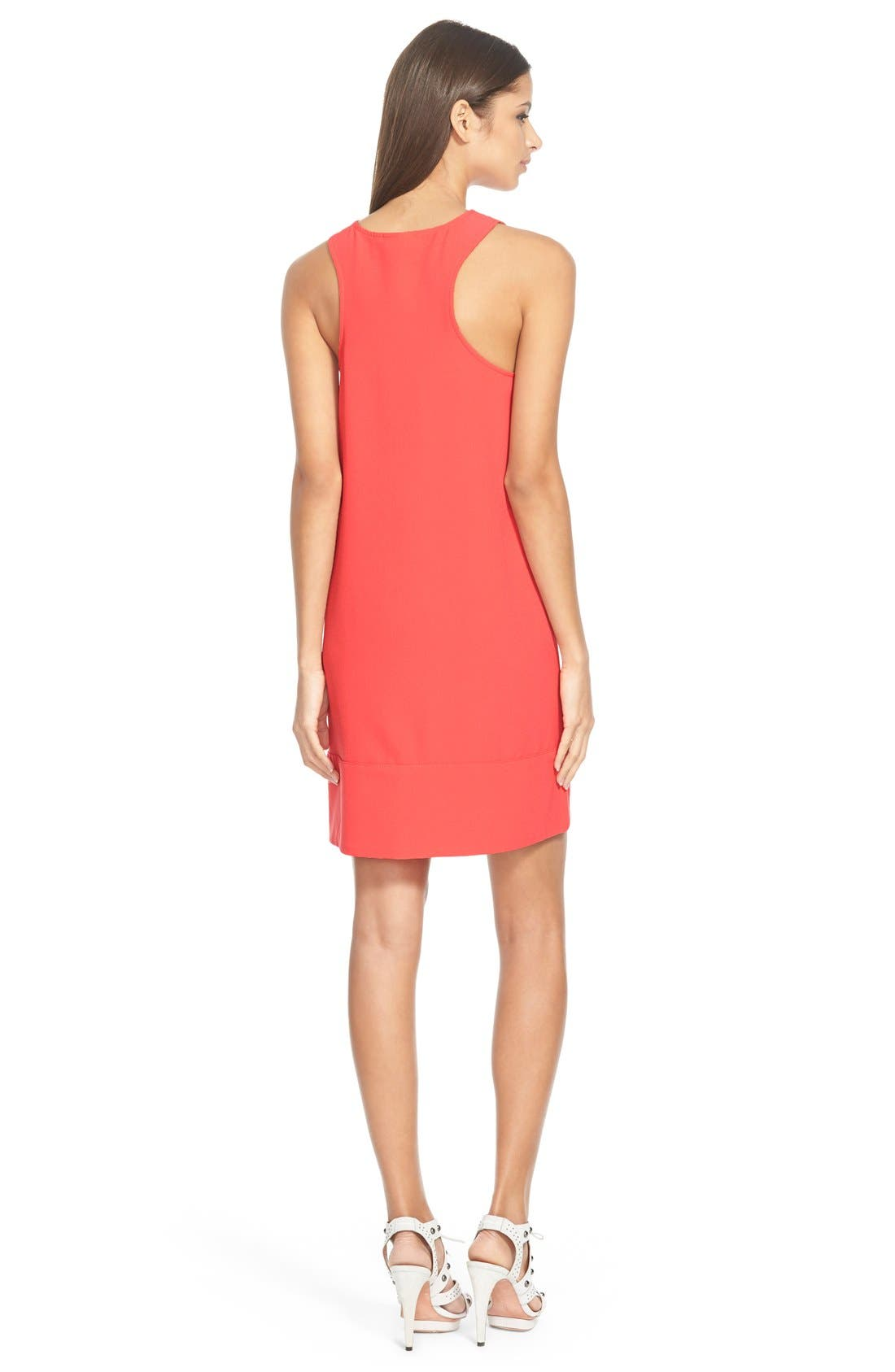 Racerback Shift Dress,                             Alternate thumbnail 118, color,