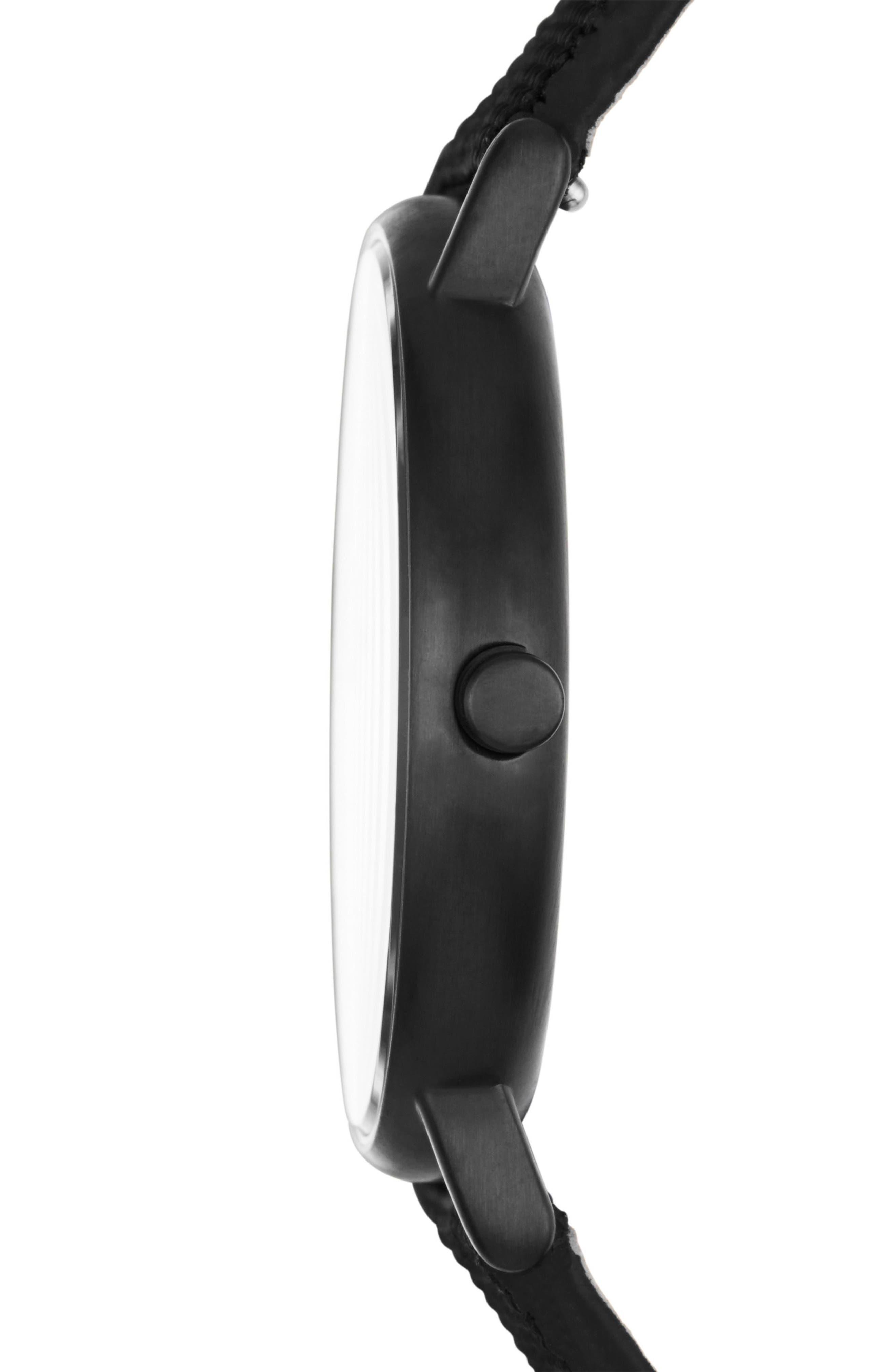 Signatur Nylon Strap Watch, 40mm,                             Alternate thumbnail 2, color,                             001