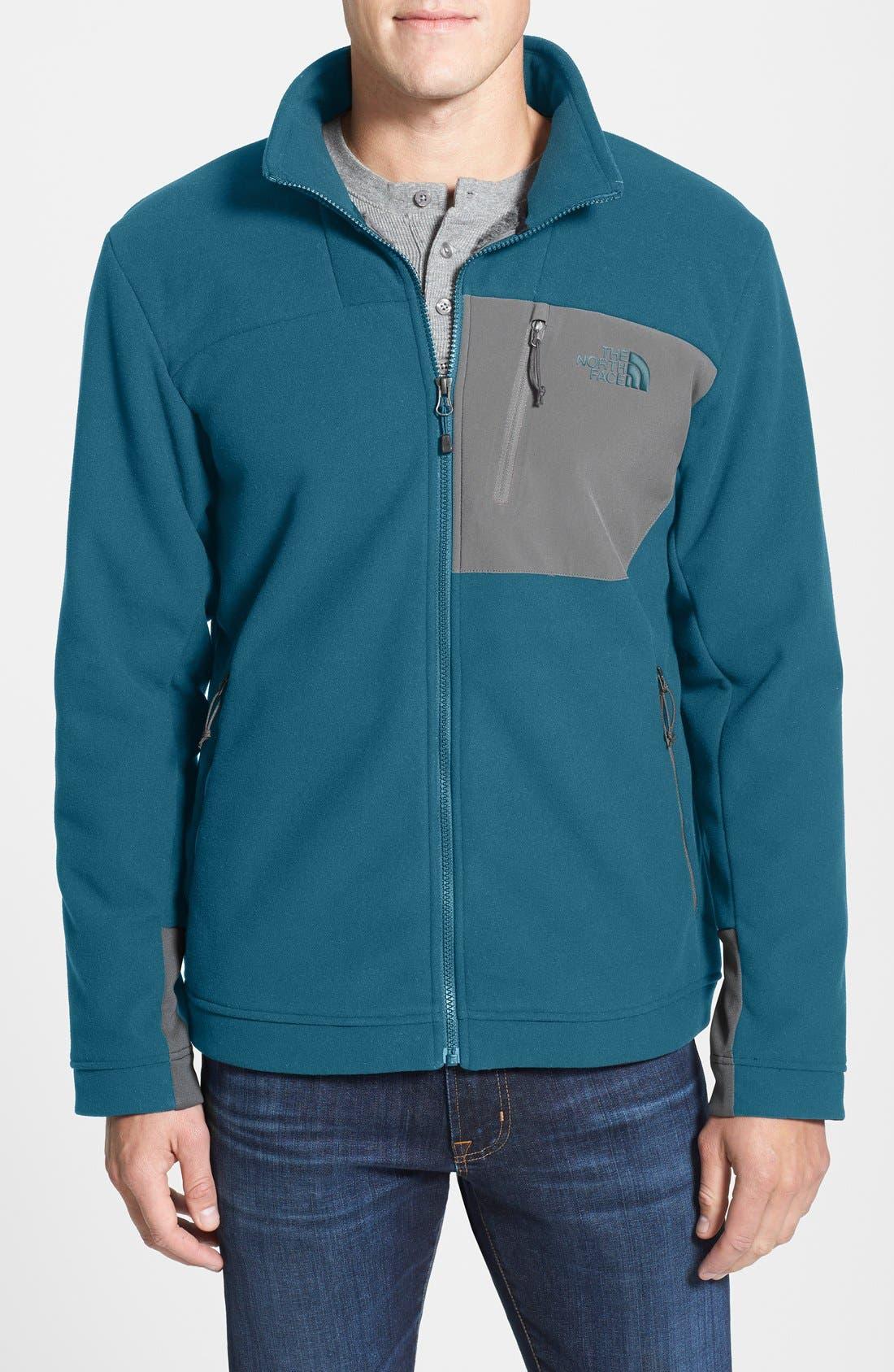 'Chimborazo' Zip Front Fleece Jacket,                             Main thumbnail 14, color,