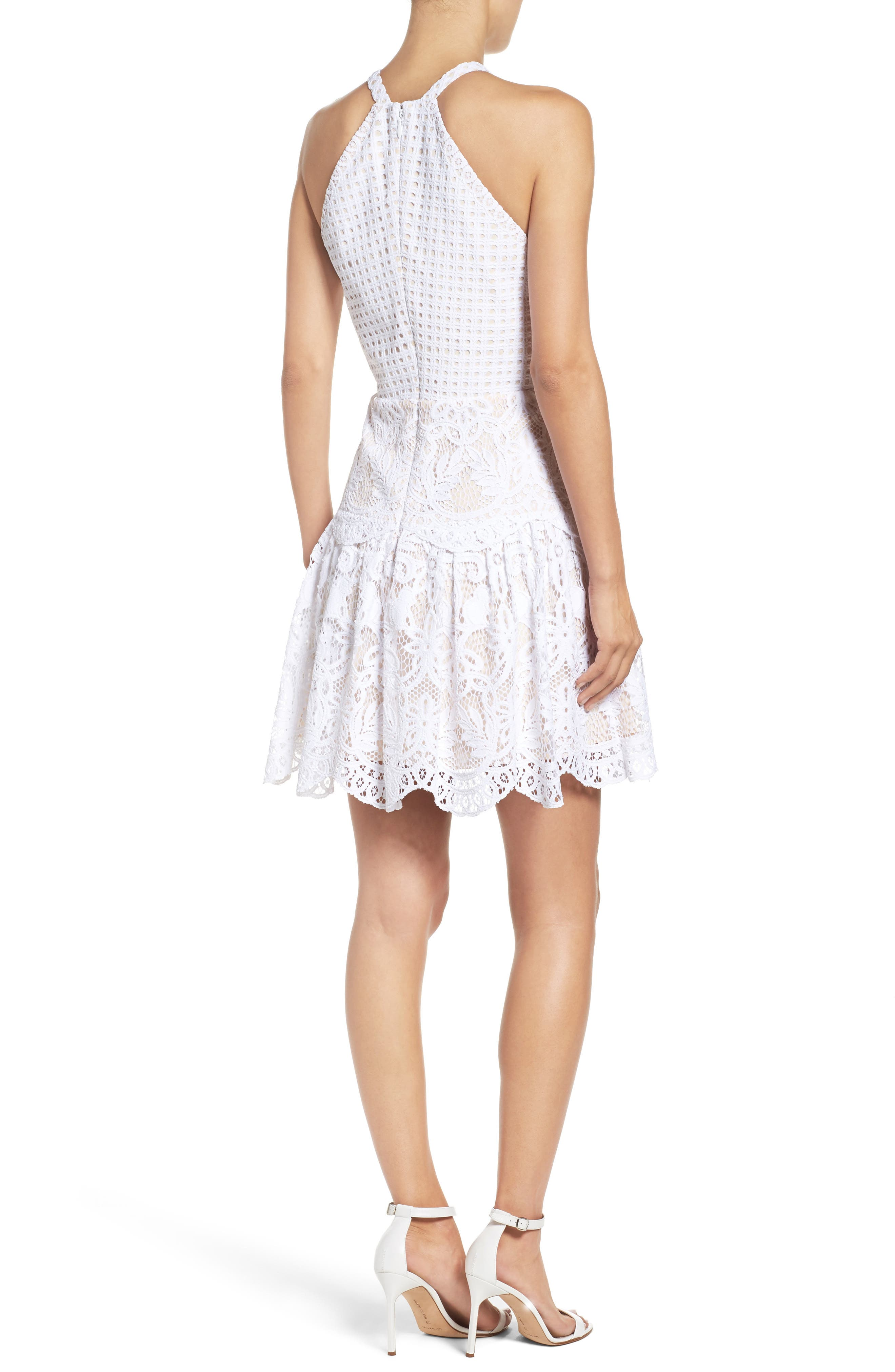 Adella Lace Dress,                             Alternate thumbnail 2, color,                             115