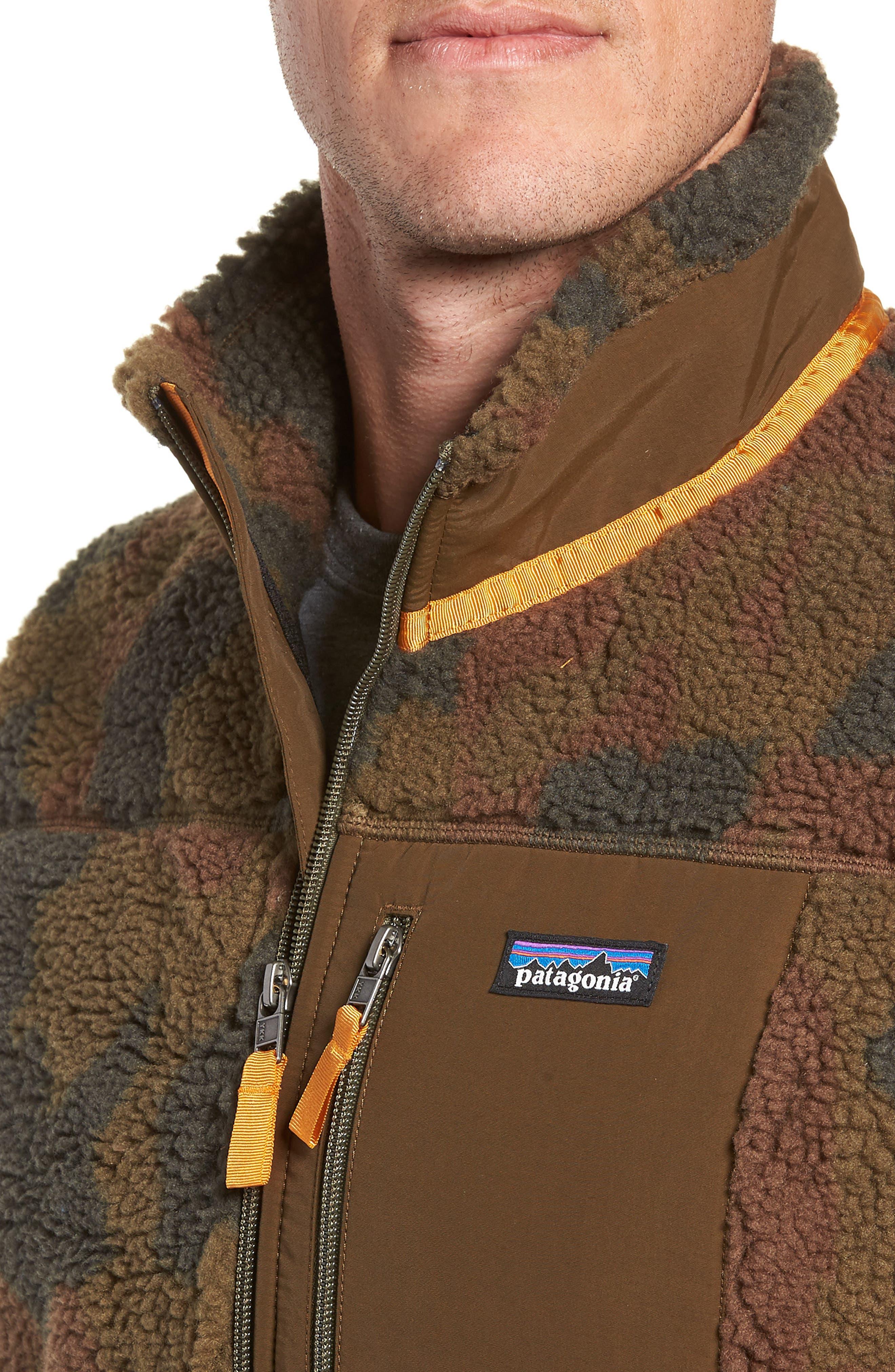 Classic Retro-X<sup>®</sup> Windproof Vest,                             Alternate thumbnail 4, color,                             BUNKER CAMO CARGO GREEN