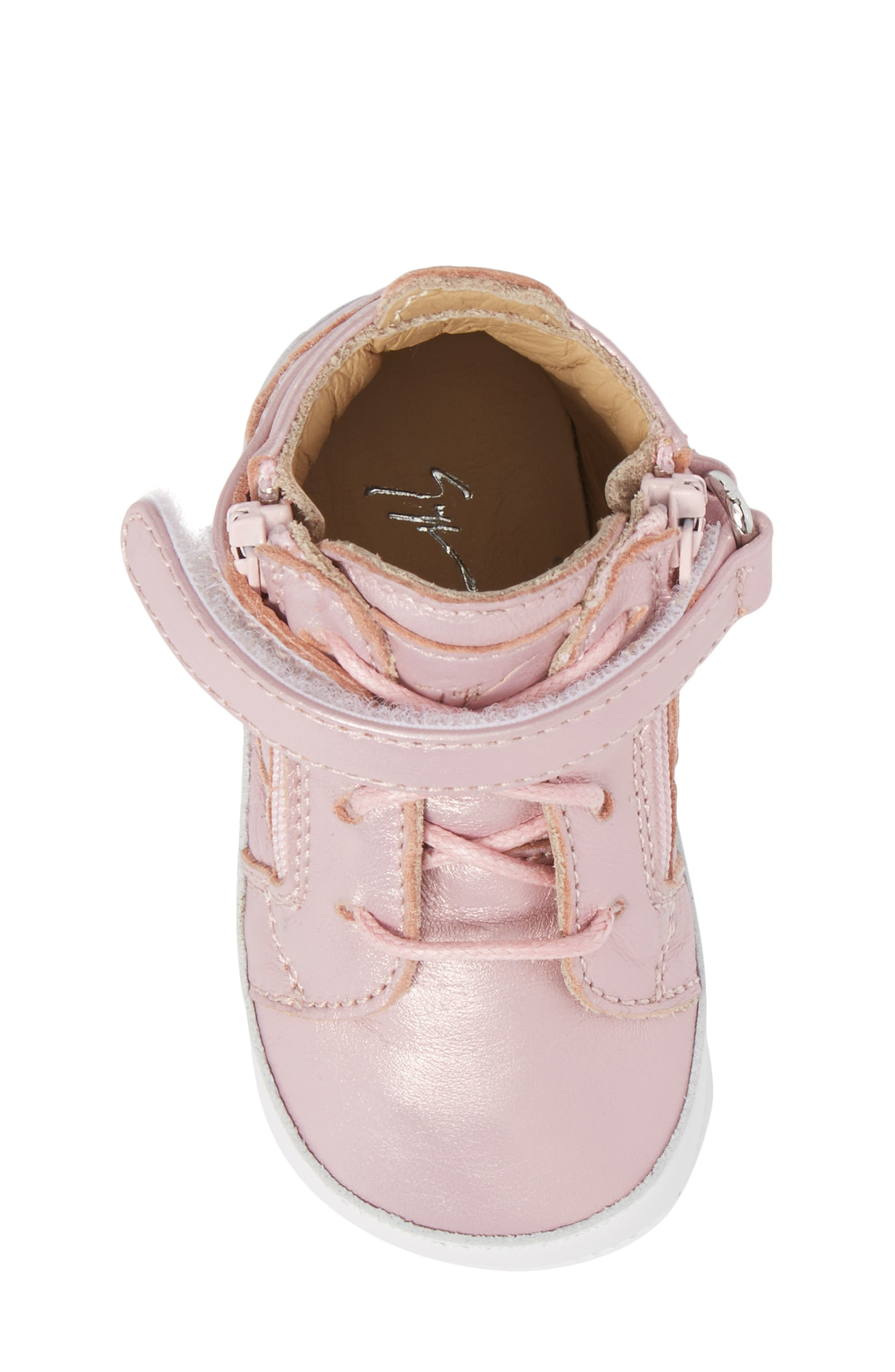 Culla London High Top Crib Sneaker,                             Alternate thumbnail 15, color,