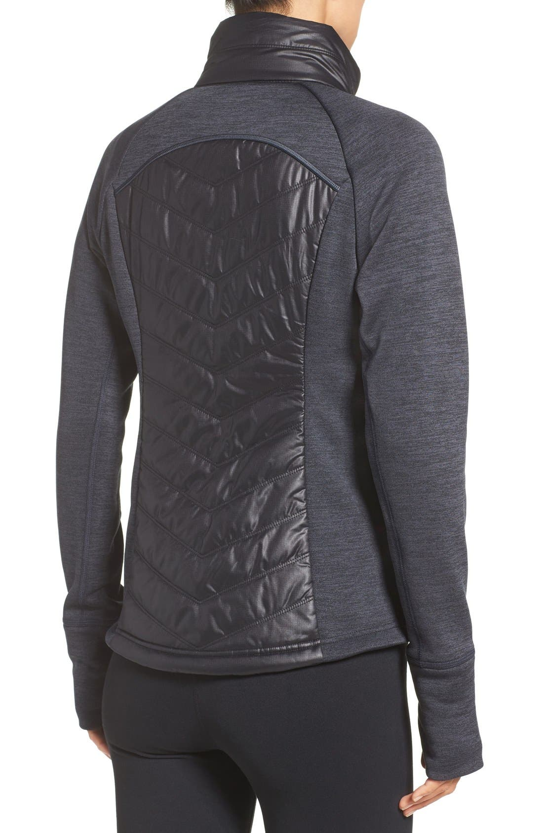 Zelfusion Reflective Quilted Jacket,                             Alternate thumbnail 15, color,