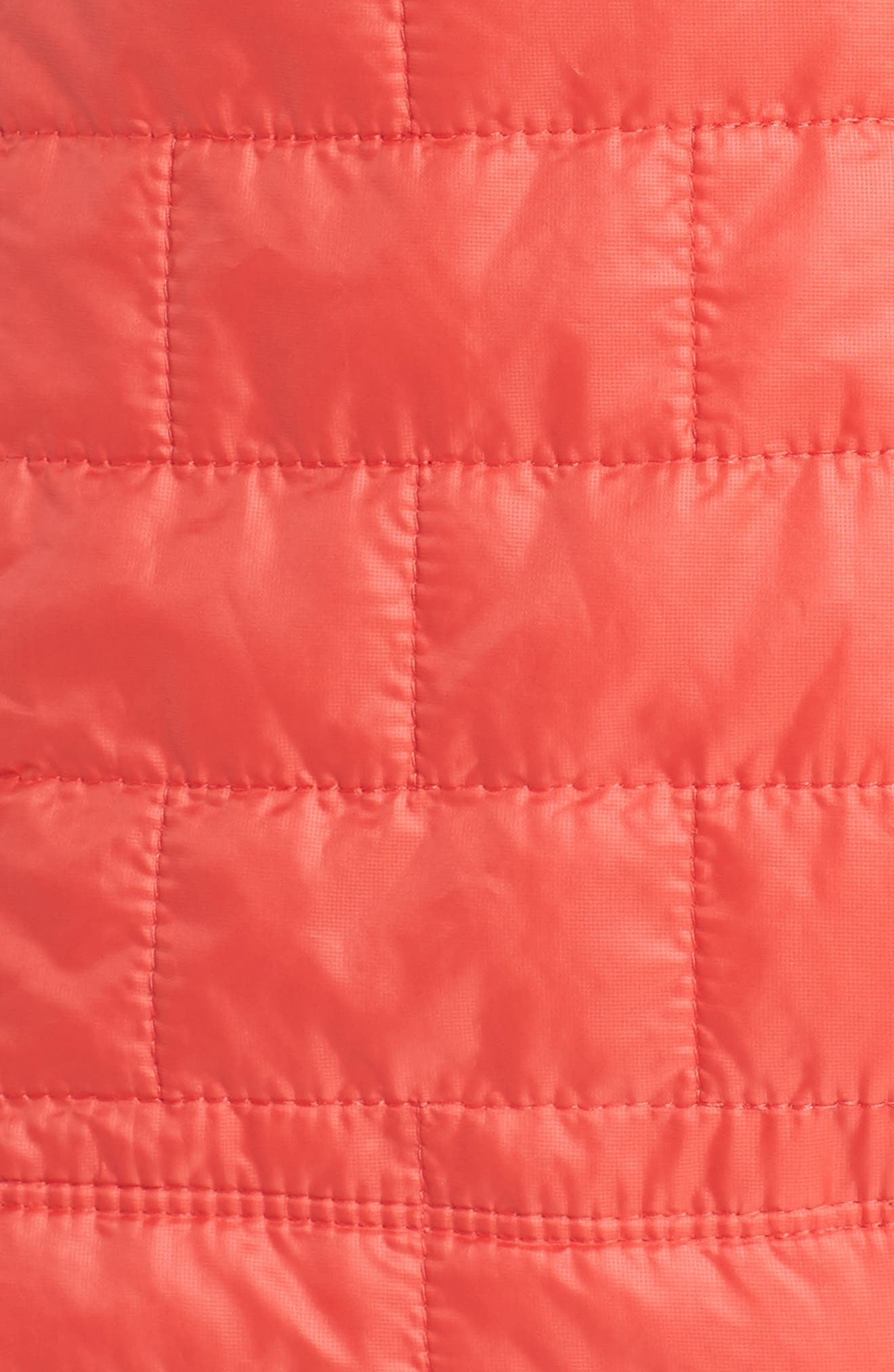 Nano Puff<sup>®</sup> Water Resistant Jacket,                             Alternate thumbnail 7, color,                             TOMATO