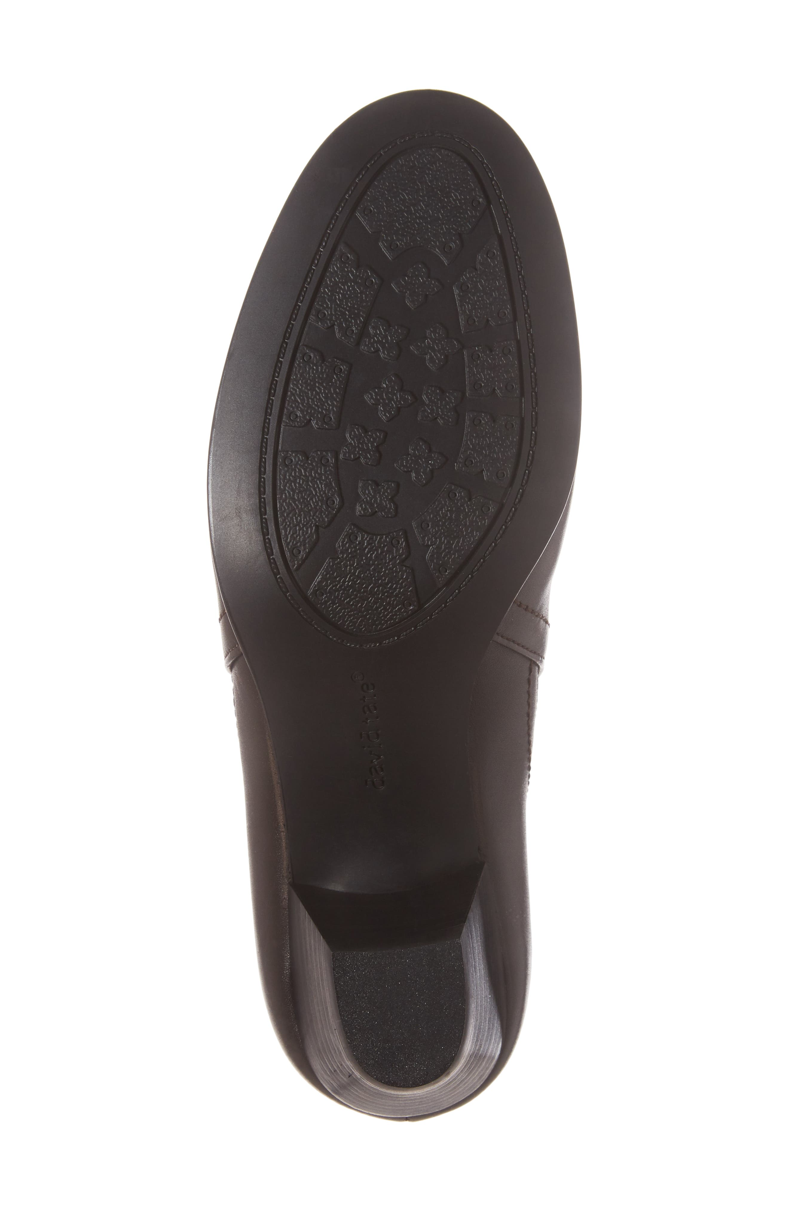 Maple Bootie,                             Alternate thumbnail 6, color,                             BROWN LEATHER