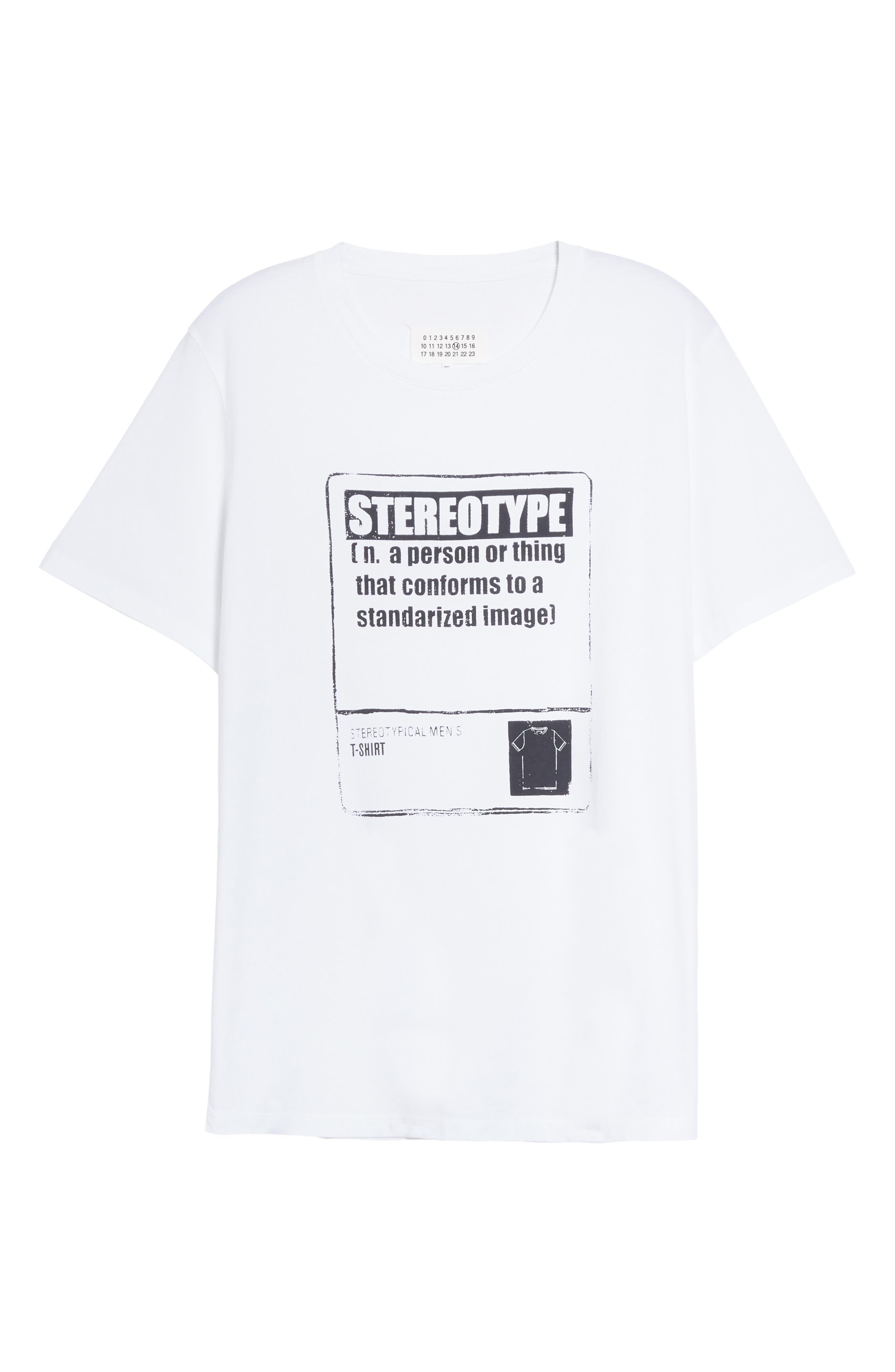 Stereotype T-Shirt,                             Alternate thumbnail 6, color,                             100