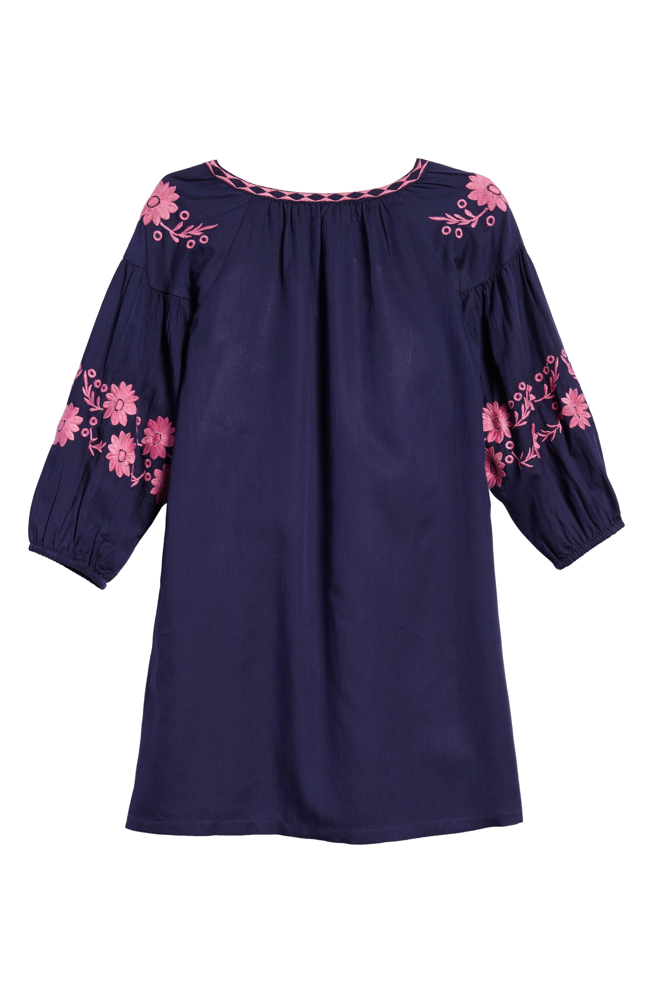 Lidia Embroidered Dress,                             Alternate thumbnail 2, color,                             400