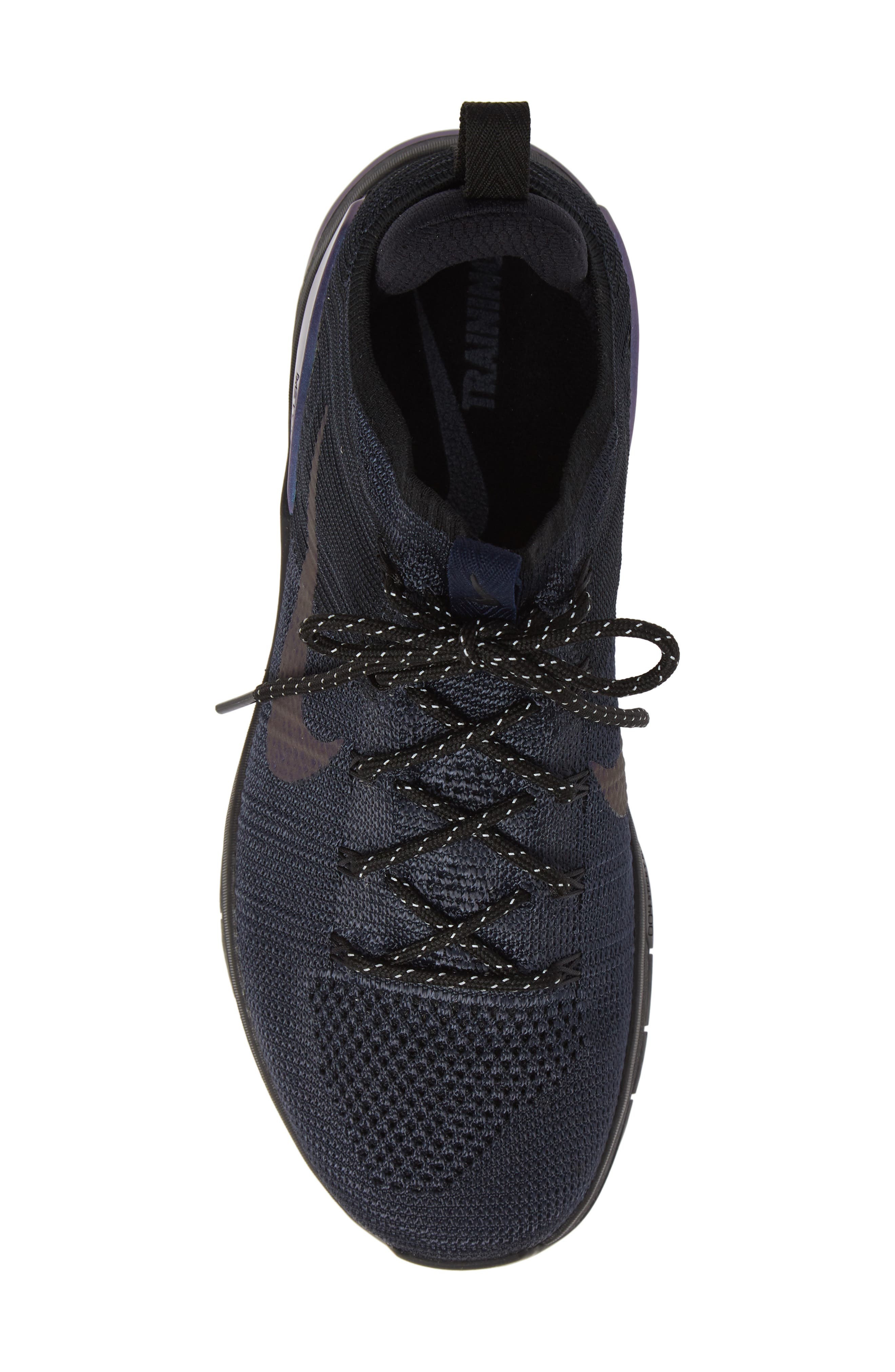 Metcon DSX Flyknit 2 AMP Sneaker,                             Alternate thumbnail 5, color,                             004