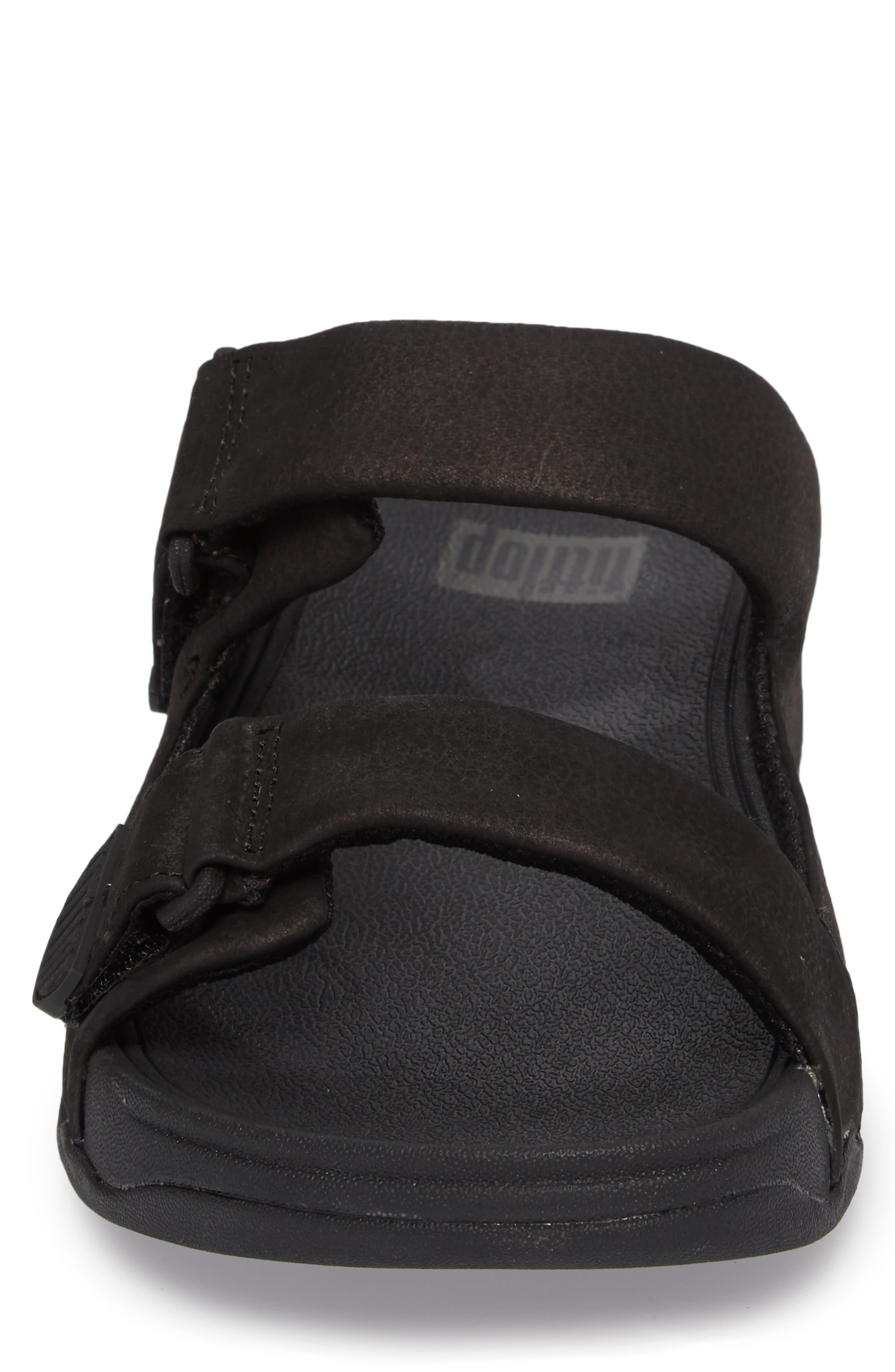Gogh Sport Slide Sandal,                             Alternate thumbnail 4, color,                             BLACK