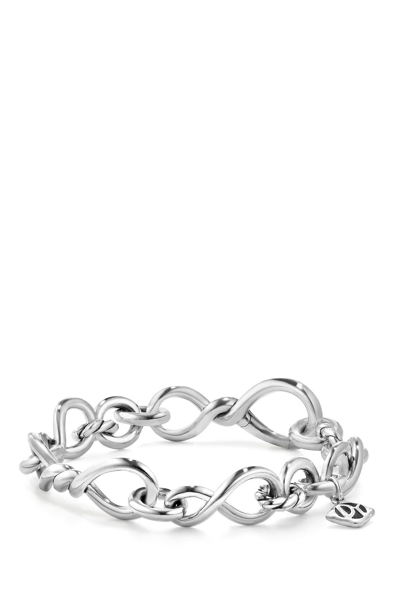 Continuance Medium Chain Bracelet,                             Main thumbnail 1, color,                             SILVER