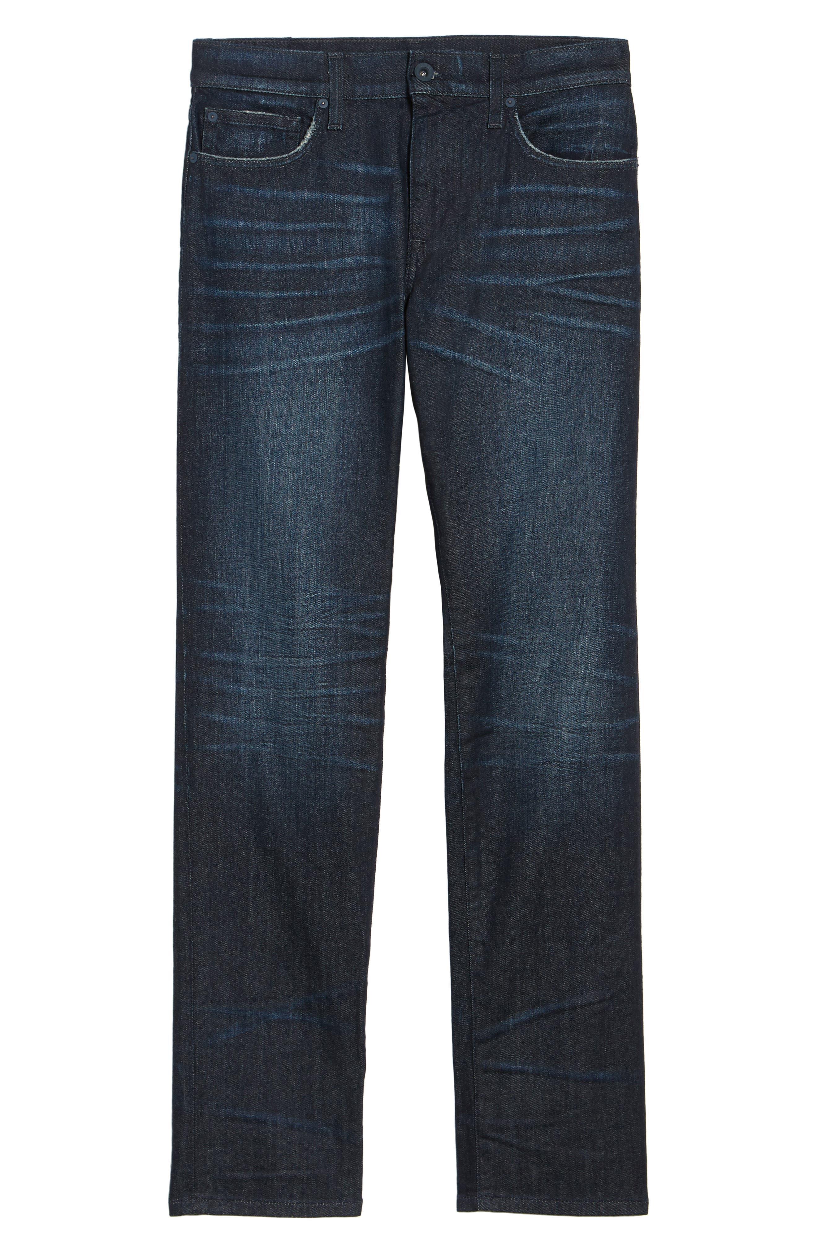 Brixton Slim Straight Fit Jeans,                             Alternate thumbnail 6, color,                             405