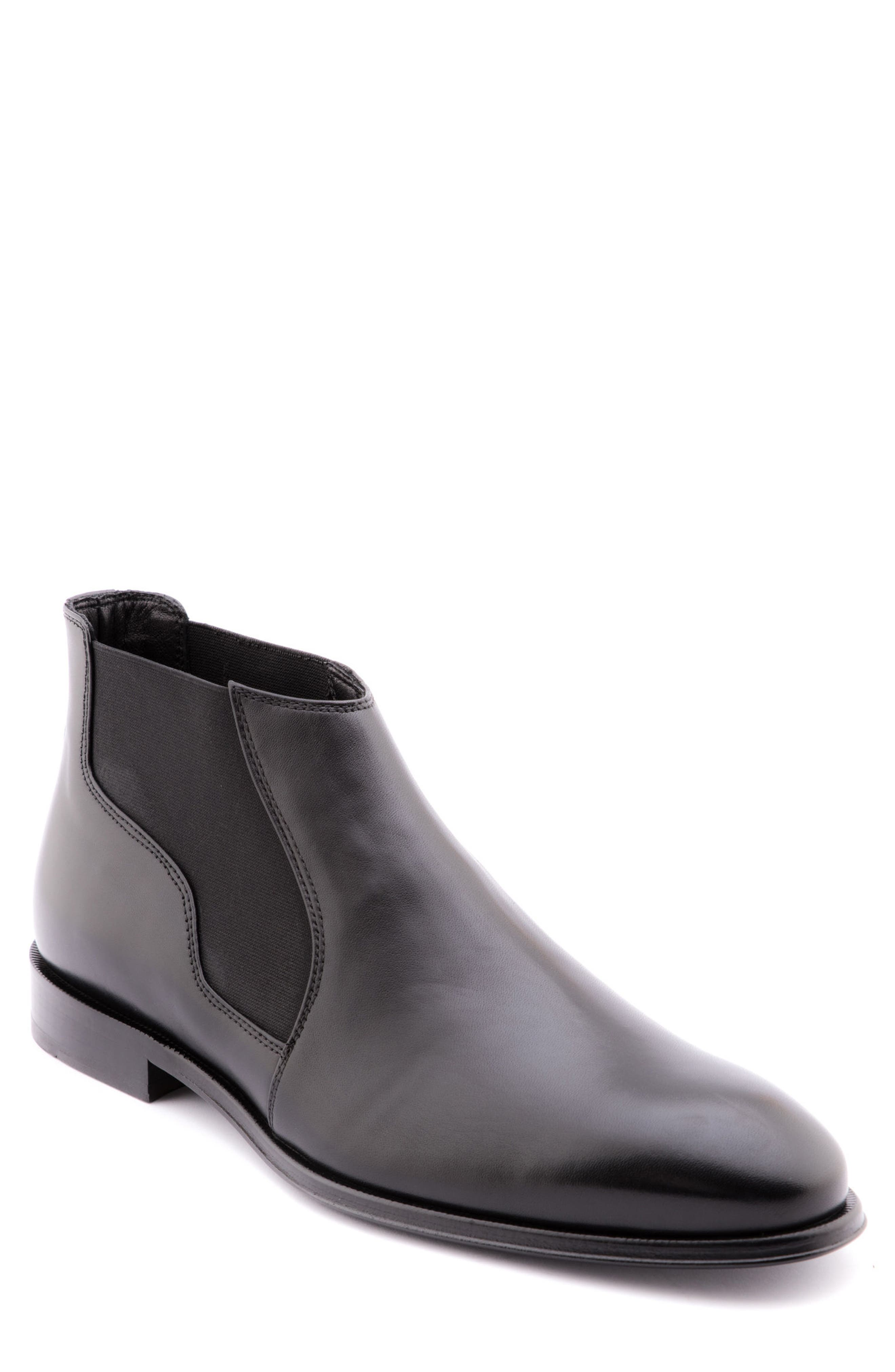 Steve Chelsea Boot,                         Main,                         color, BLACK