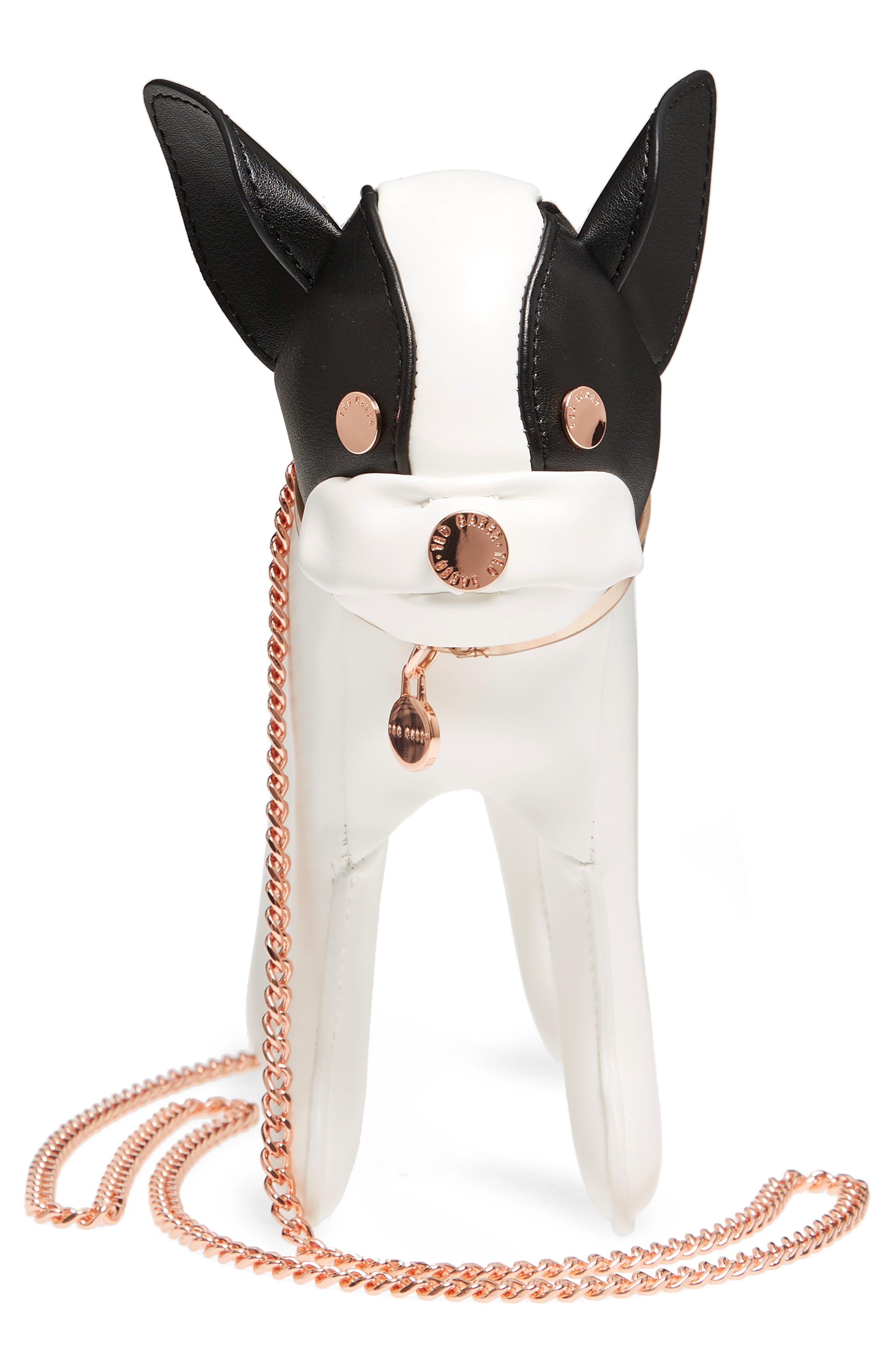 Boston Terrier Crossbody Bag,                             Alternate thumbnail 9, color,