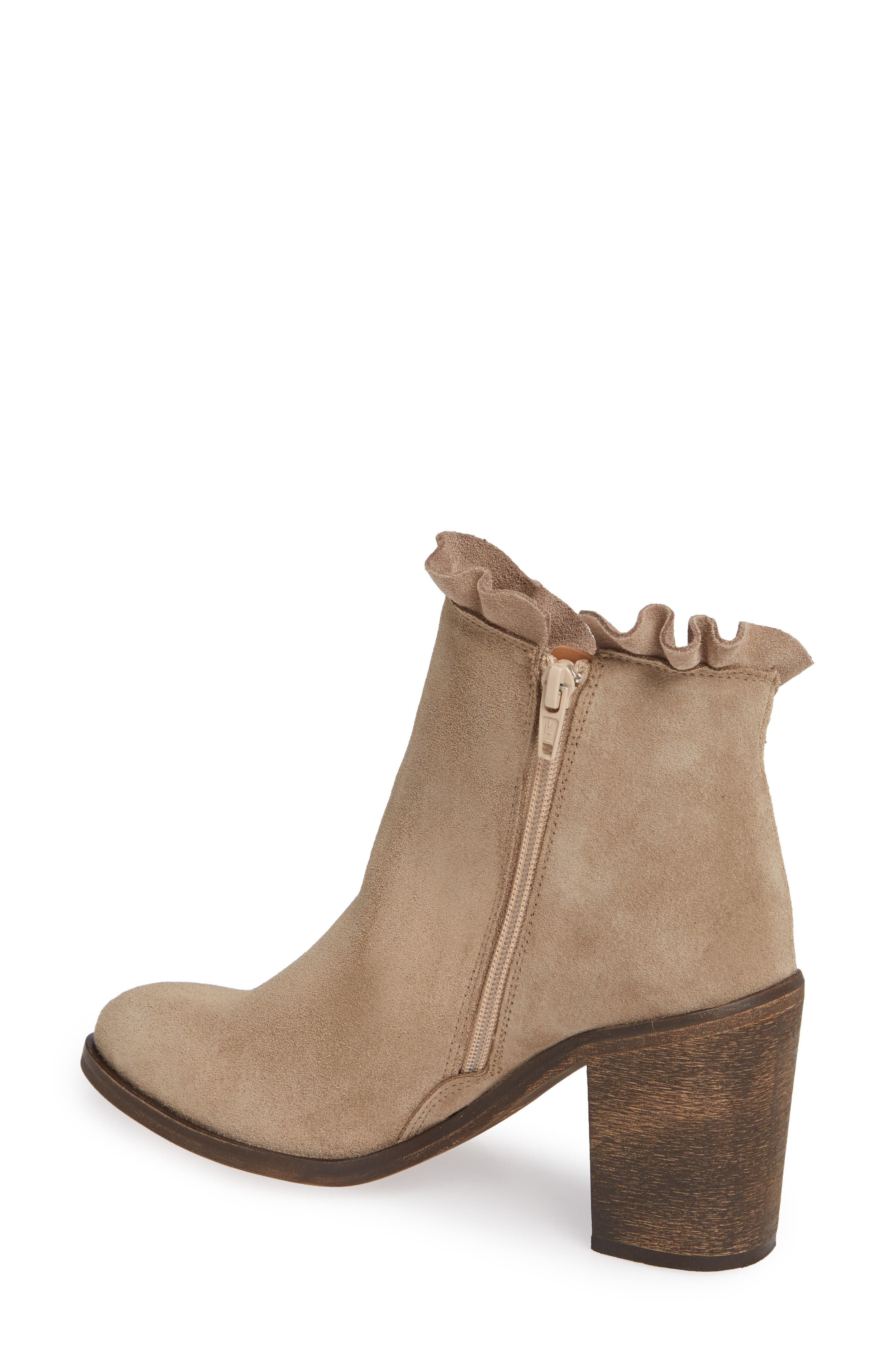 Bellamy Bootie,                             Alternate thumbnail 2, color,                             TAUPE SUEDE