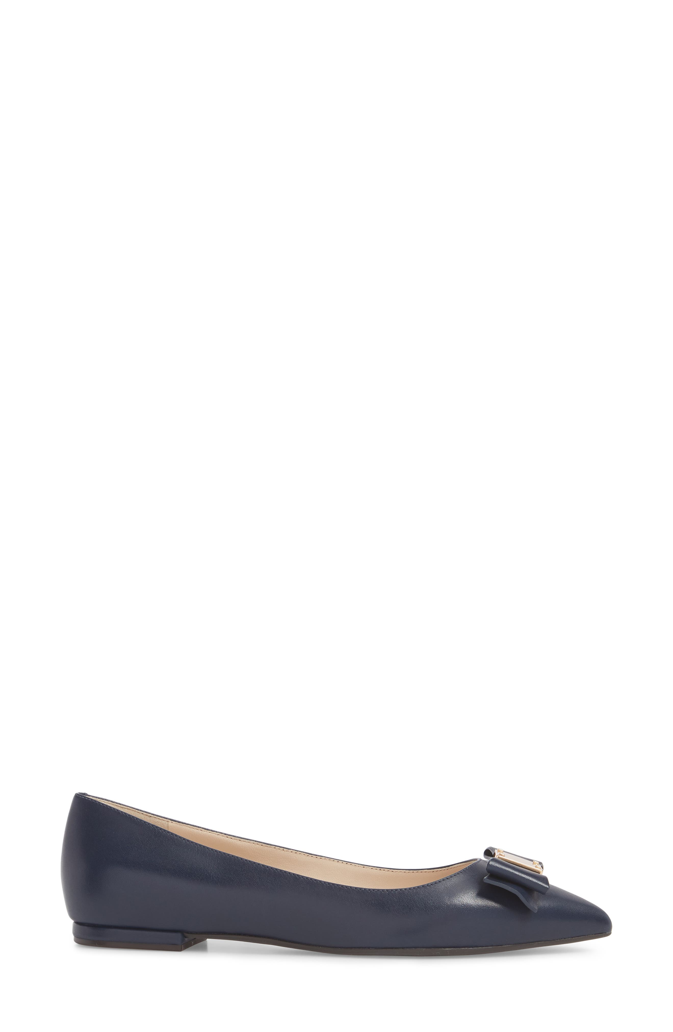 COLE HAAN,                             Tali Bow Skimmer Flat,                             Alternate thumbnail 3, color,                             400