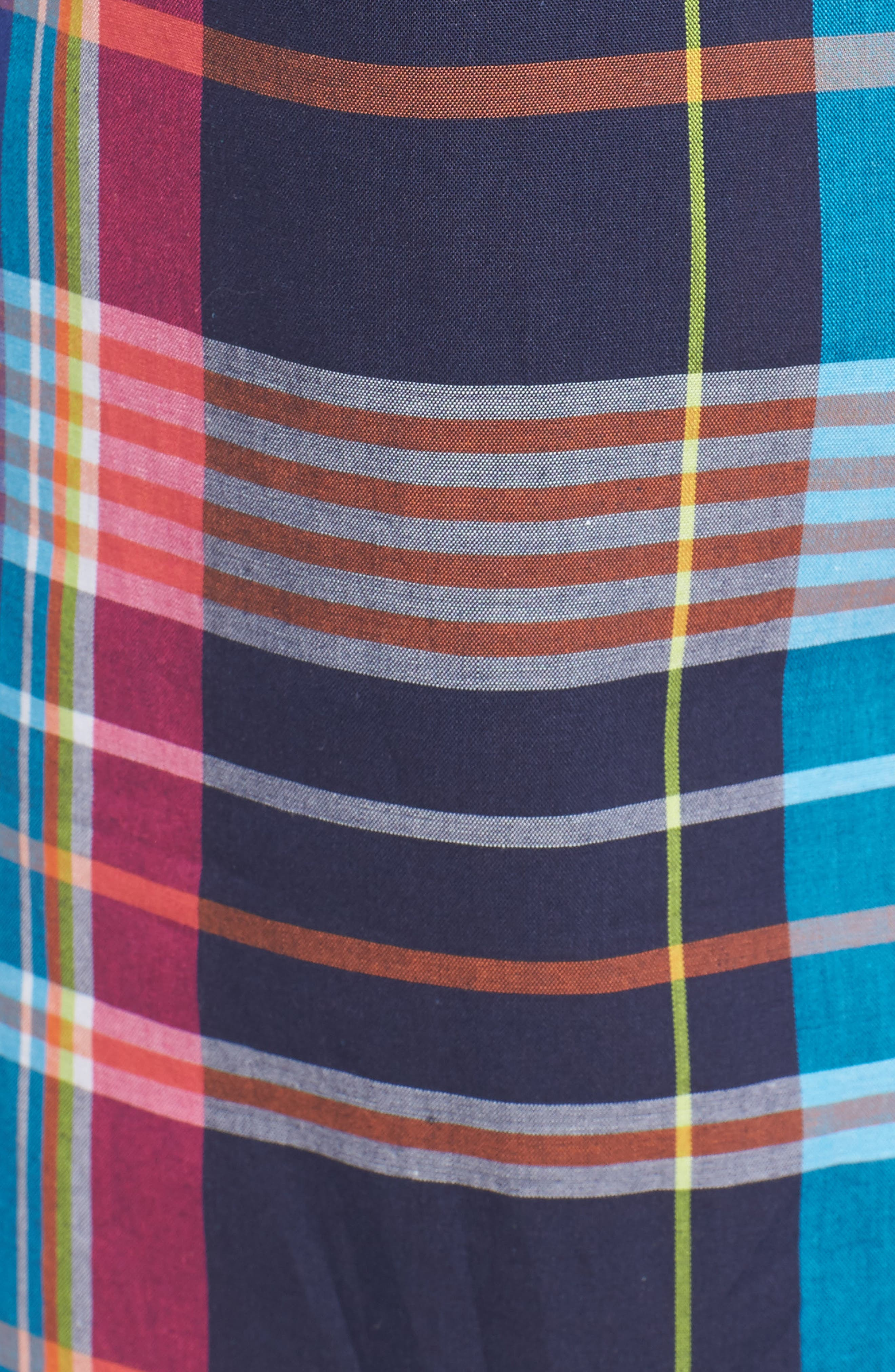 Cotton Lounge Shorts,                             Alternate thumbnail 5, color,                             001