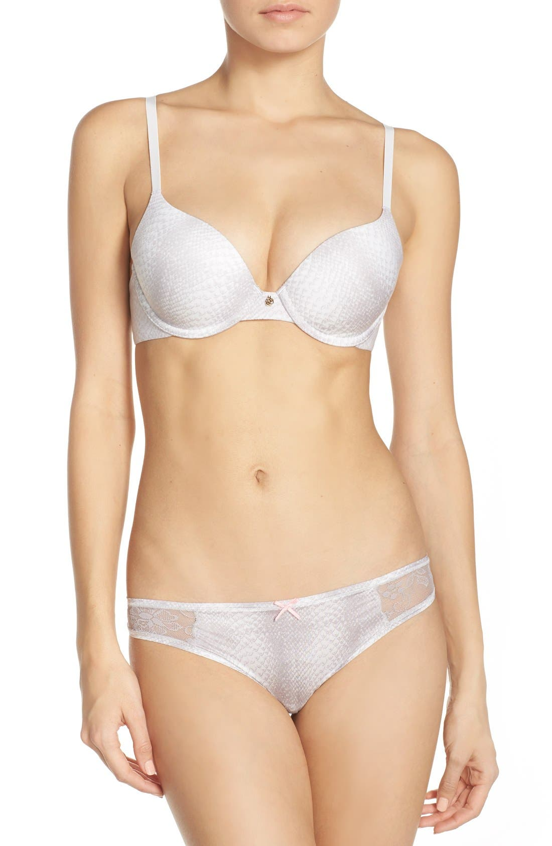 'Forever Perfect' Underwire Demi Bra,                             Alternate thumbnail 228, color,