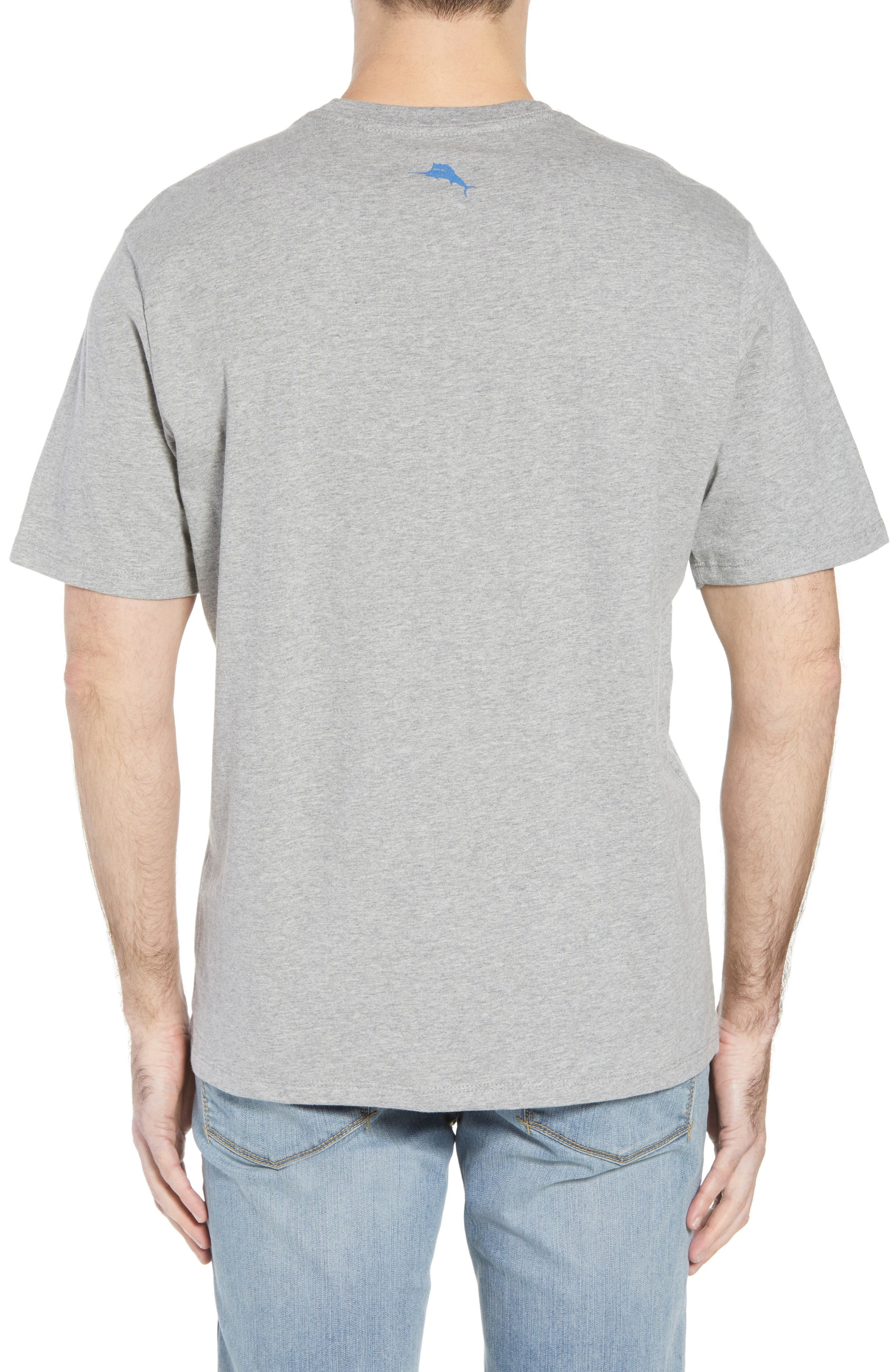 Bourbon of Proof Graphic T-Shirt,                             Alternate thumbnail 2, color,                             GREY HEATHER