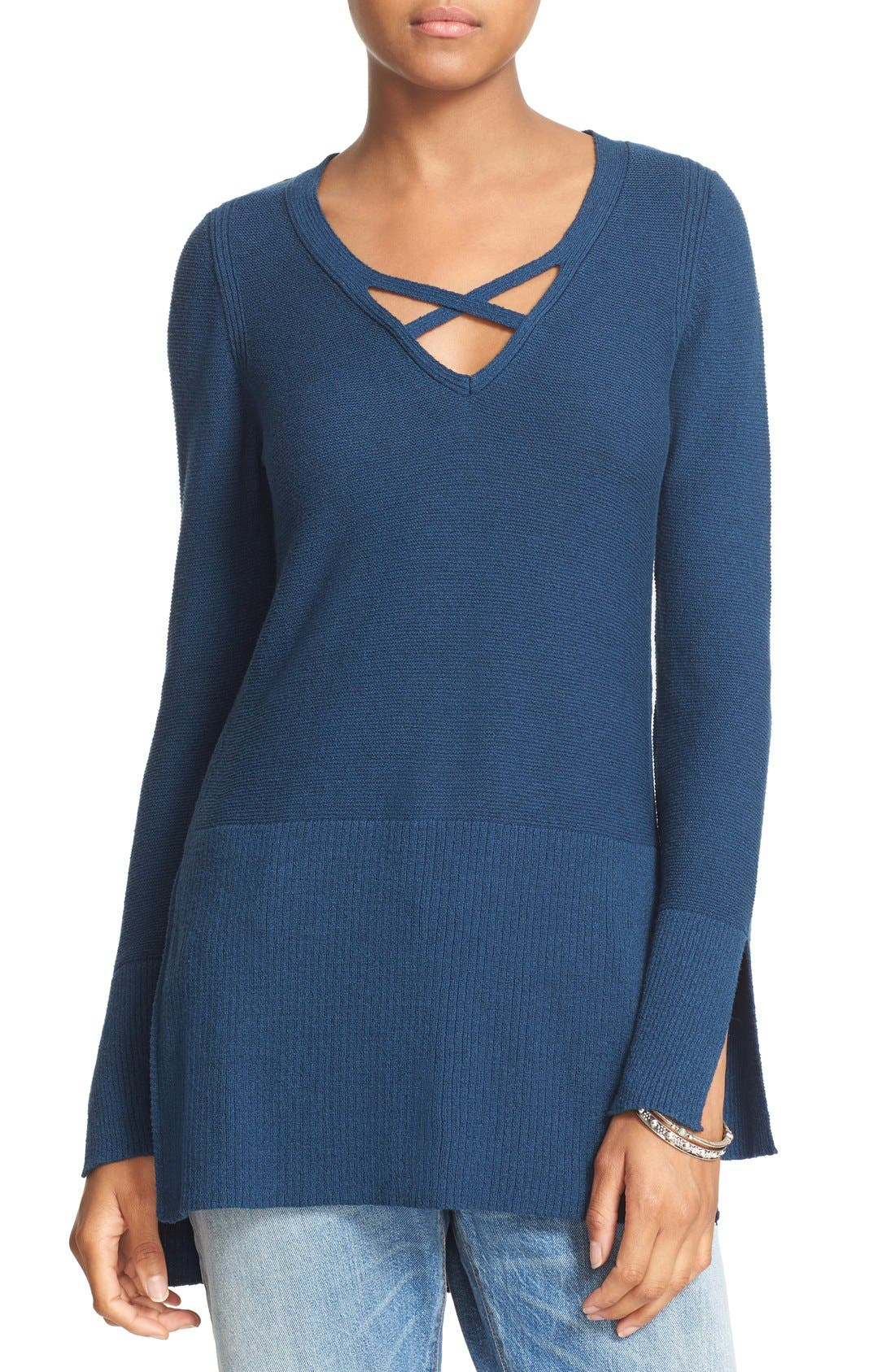 Crisscross Sweater,                             Main thumbnail 3, color,