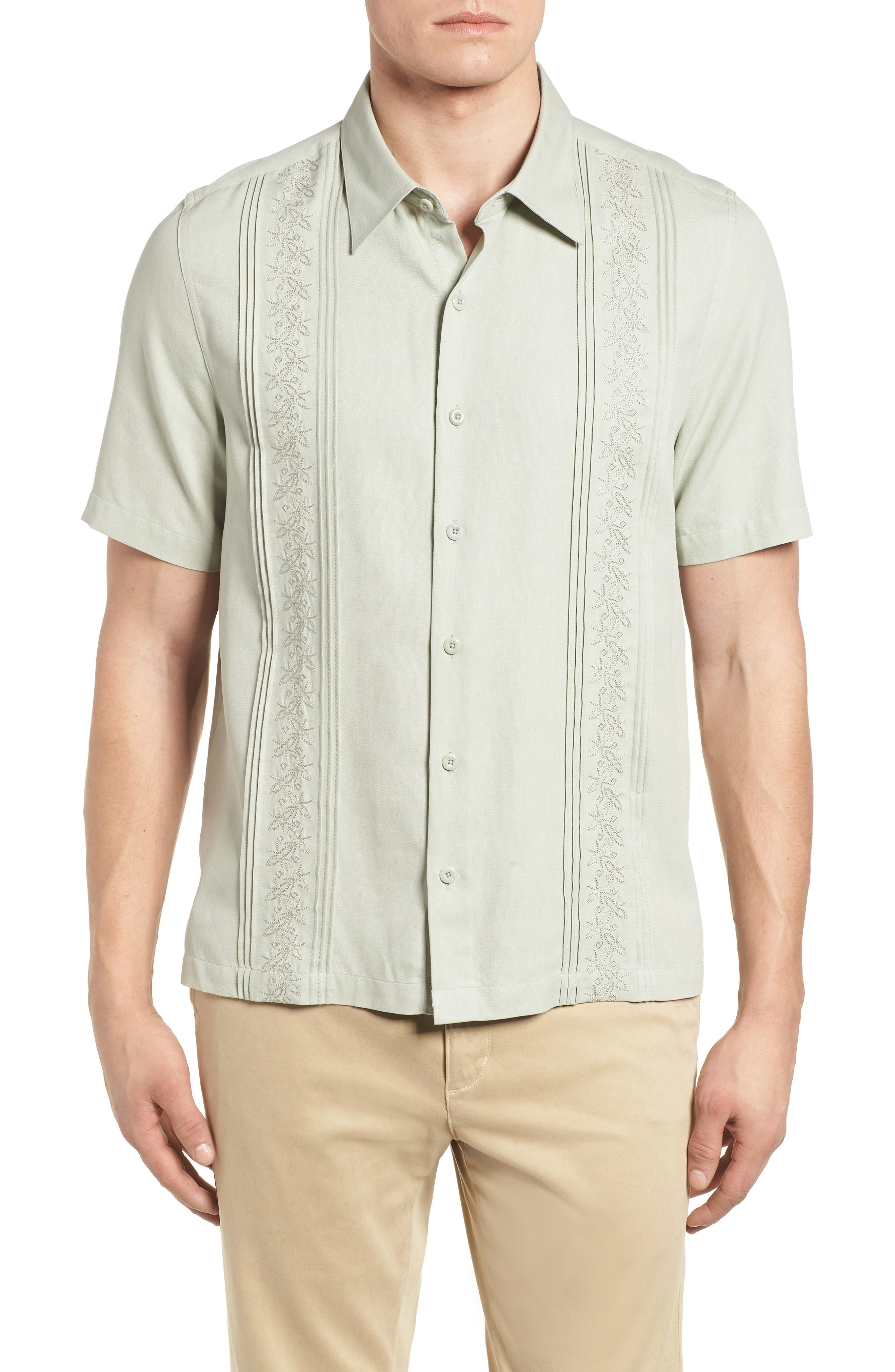 La Fleur Camp Shirt,                         Main,                         color, 020