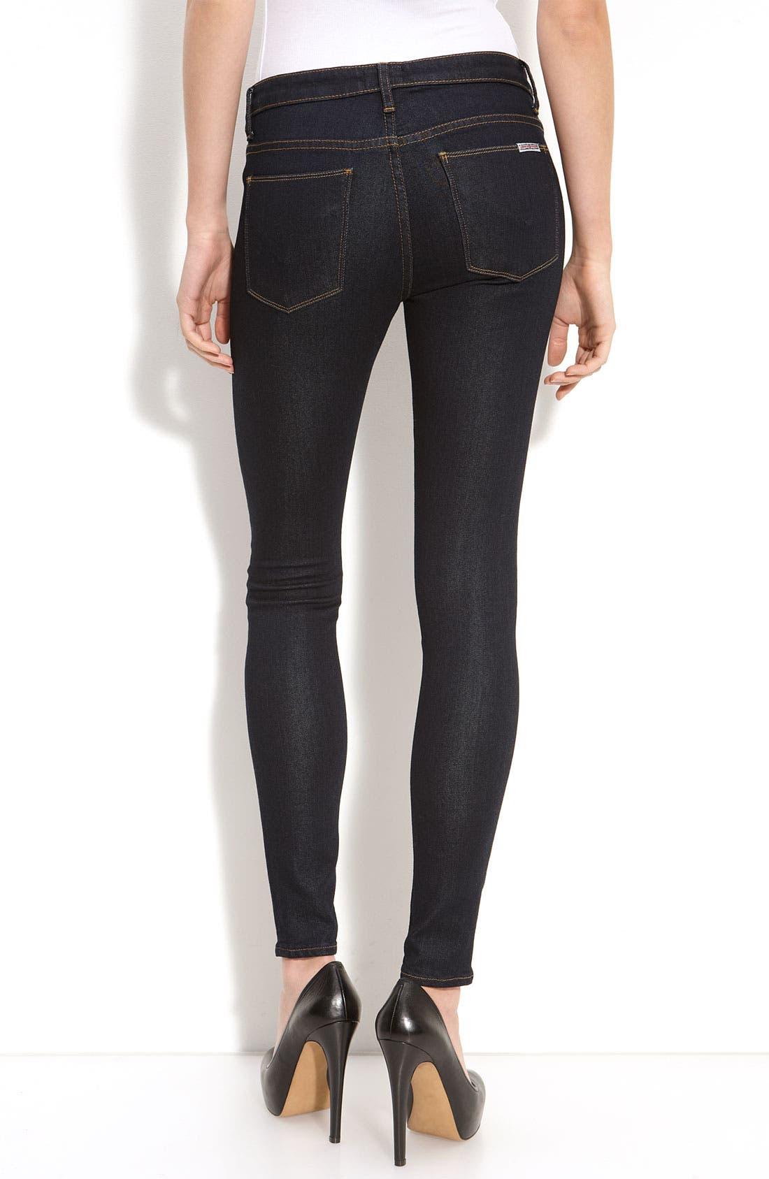 'Nico' Mid Rise Super Skinny Jeans,                             Alternate thumbnail 6, color,
