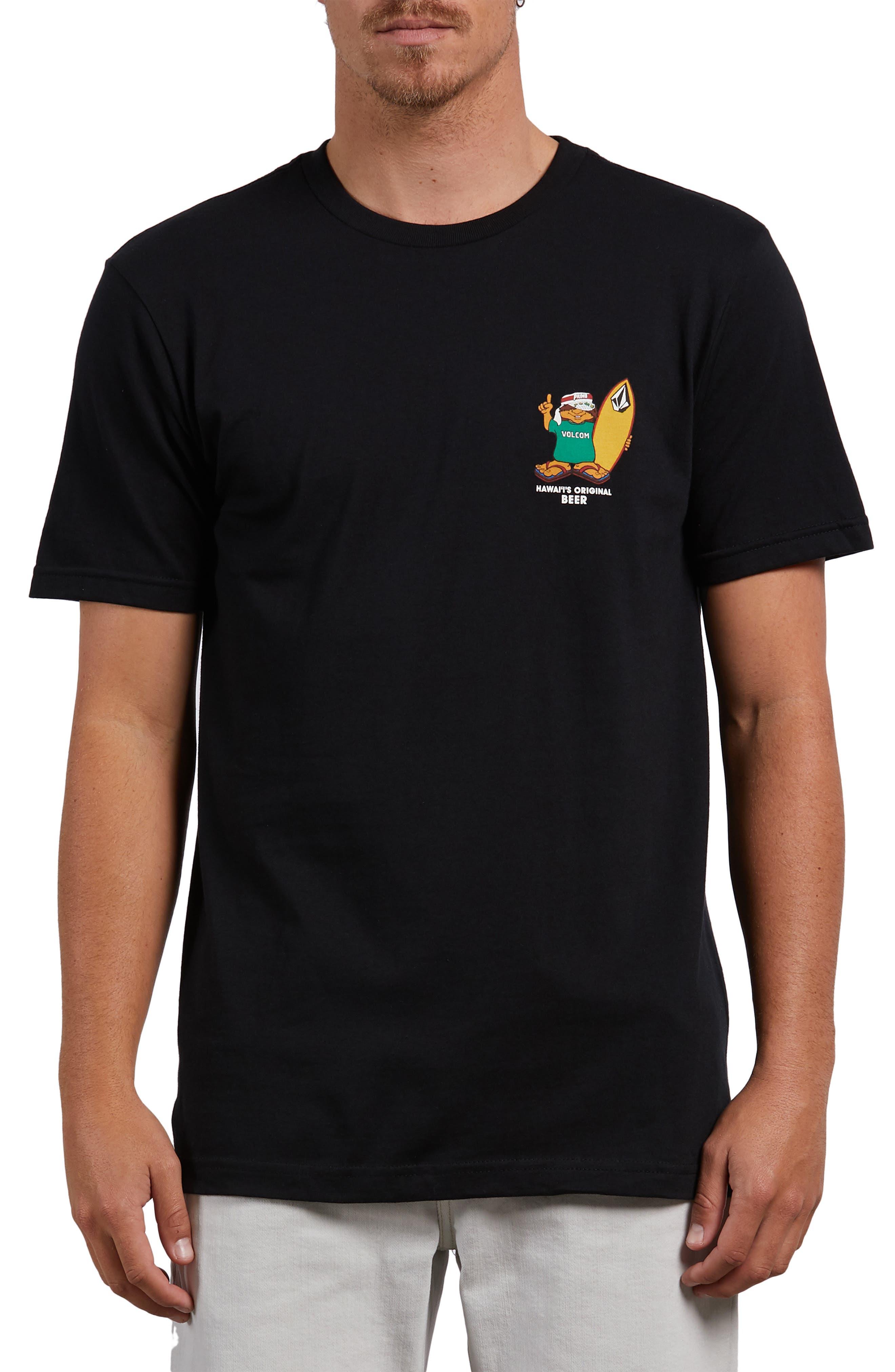 Primo Chance T-Shirt,                             Main thumbnail 1, color,                             BLACK