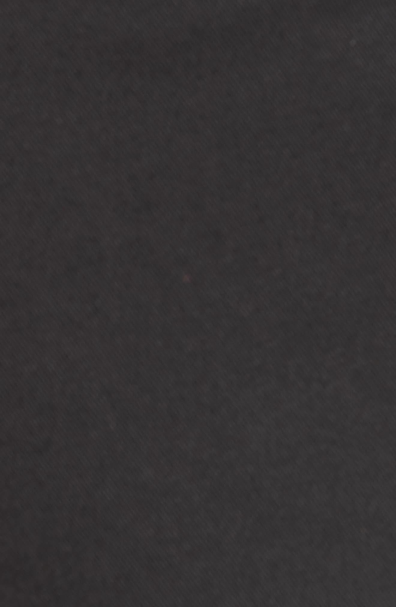 Crop Utility Pants,                             Alternate thumbnail 5, color,                             BLACK