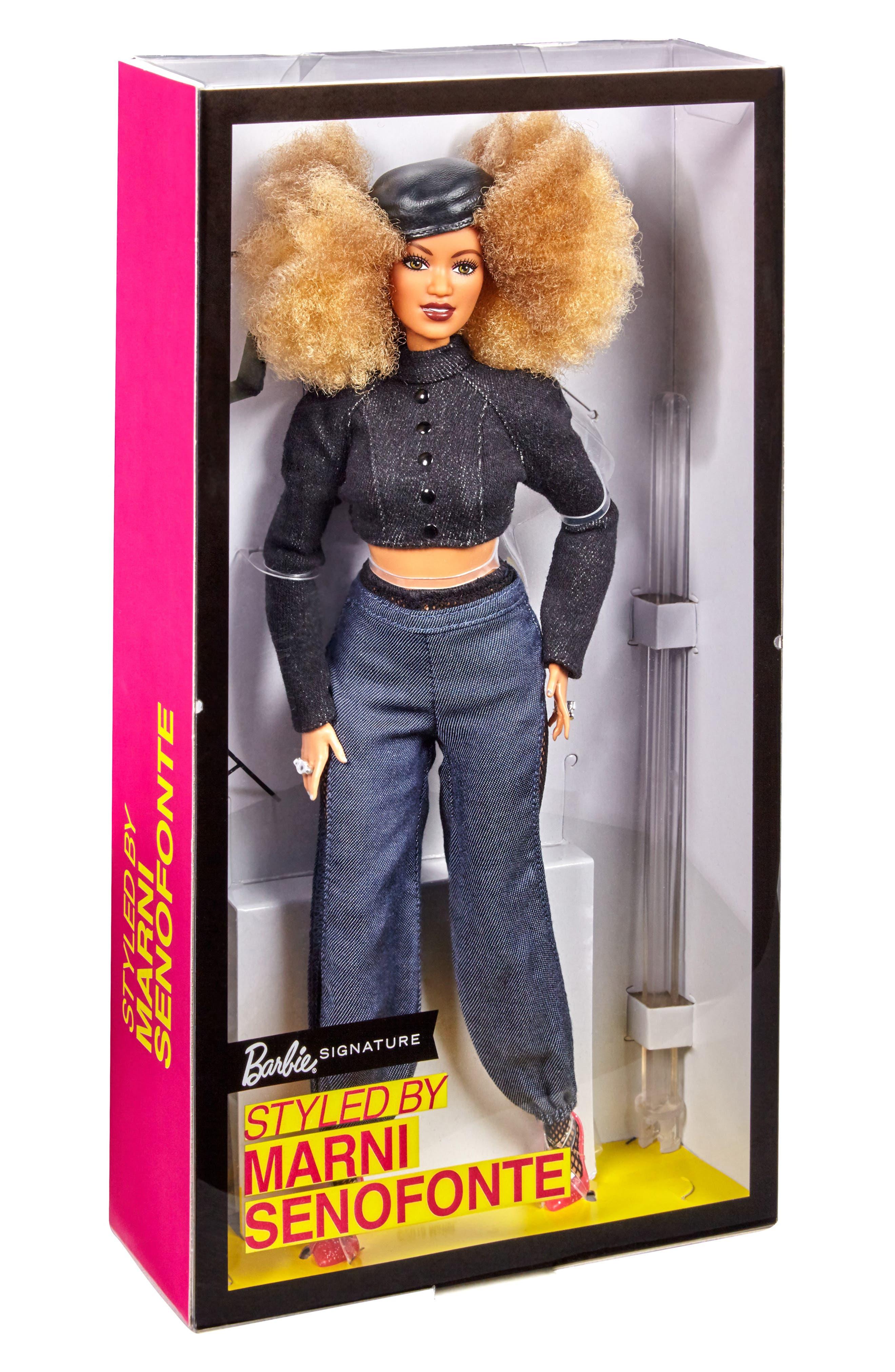 Girls Mattel Barbie Styled By Marni Senofonte Doll