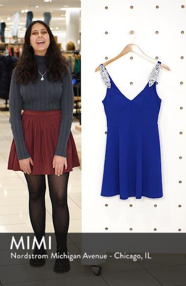 Jewel Strap Skater Dress, sales video thumbnail