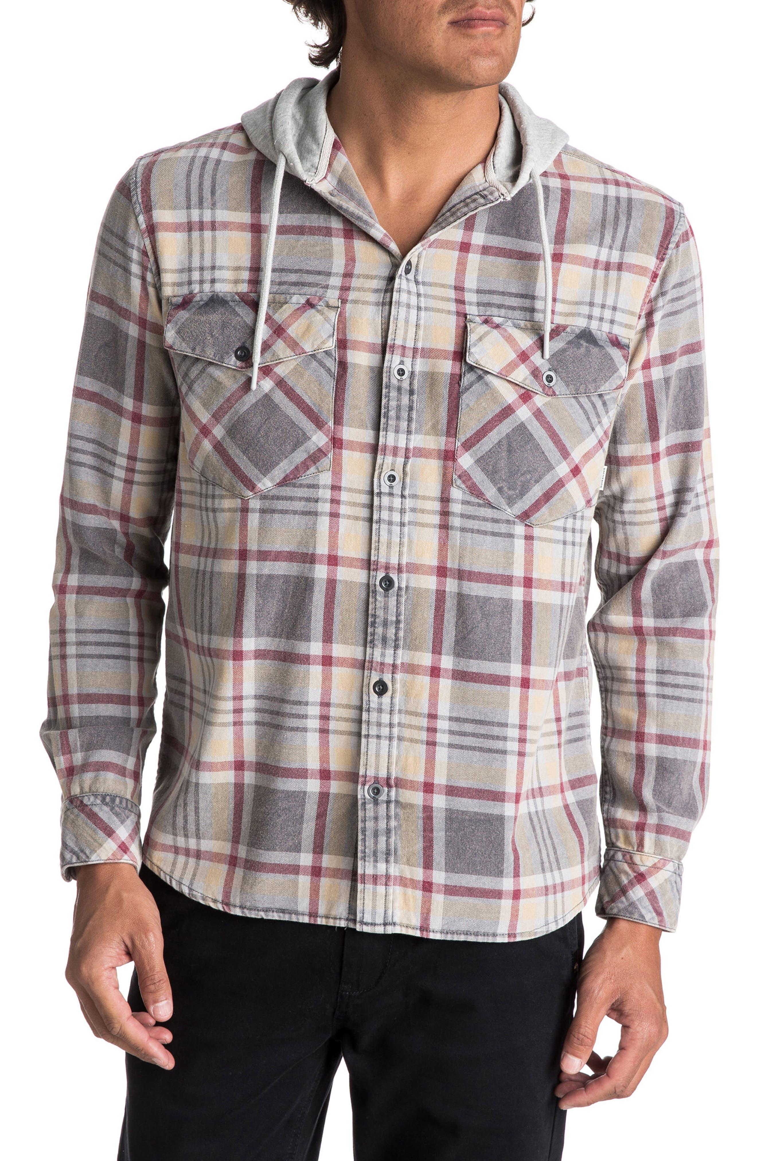 Tang Hooded Woven Shirt,                         Main,                         color, 267