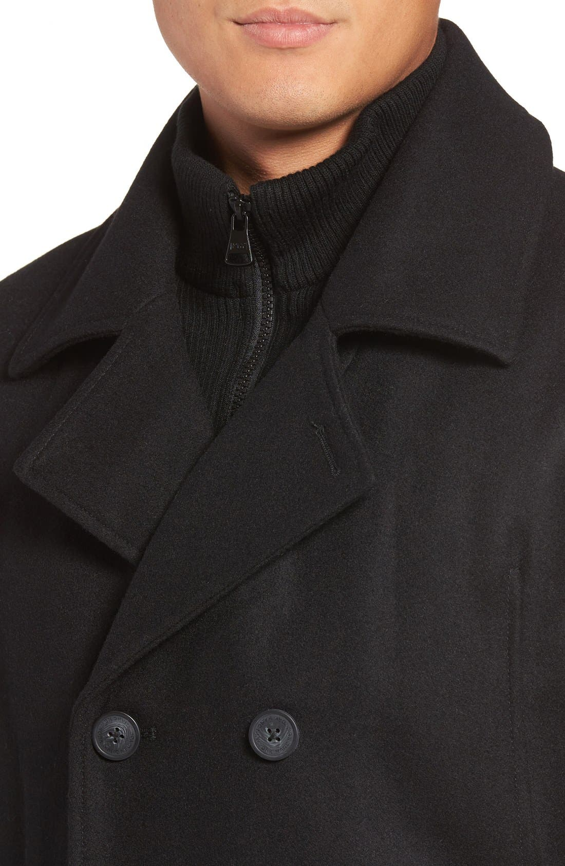 by Andrew Marc Cheshire Peacoat with Bib,                             Alternate thumbnail 4, color,                             001