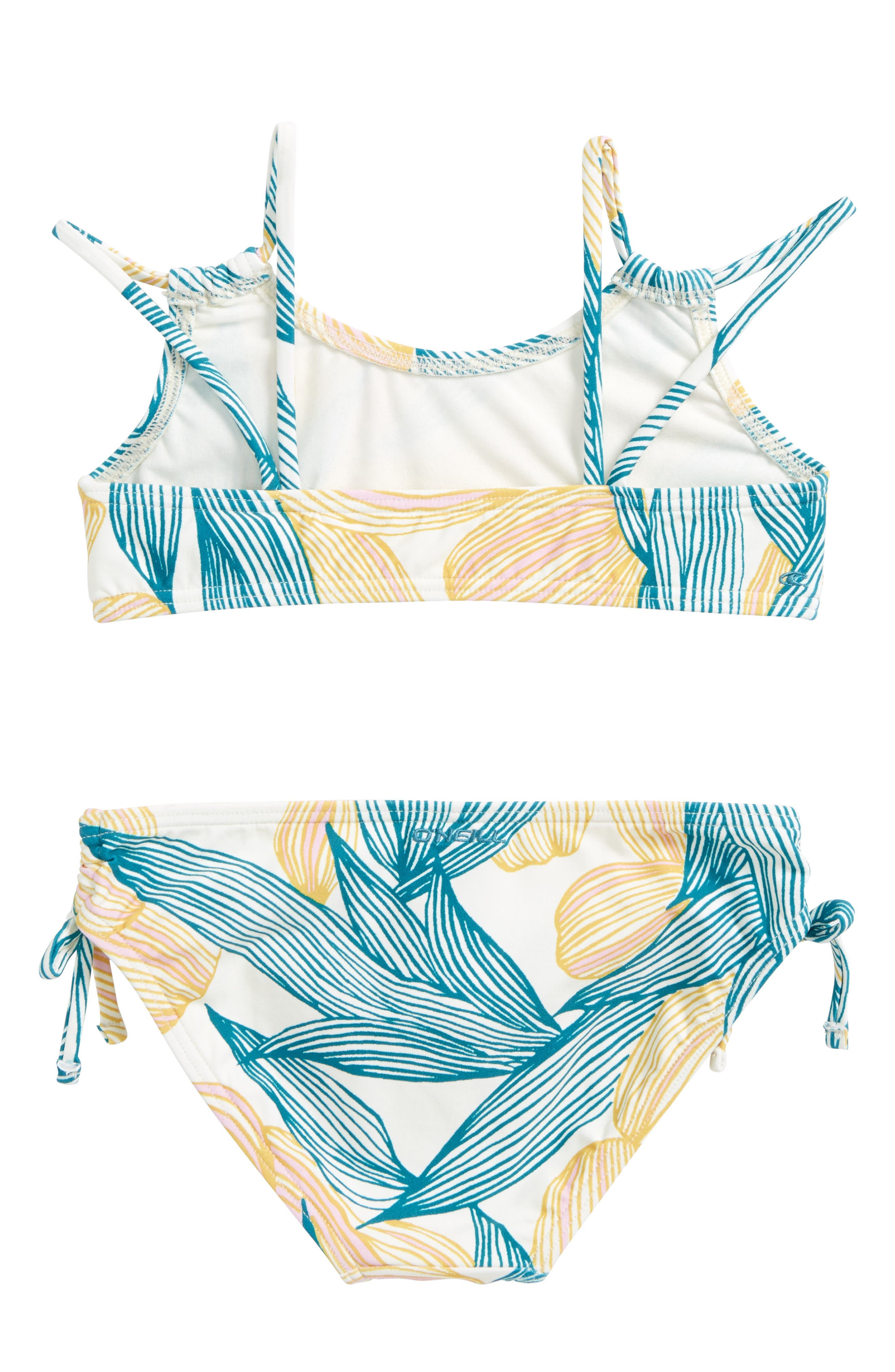 Bethany Two-Piece Swimsuit,                             Alternate thumbnail 2, color,                             ISLAND TURQUOISE