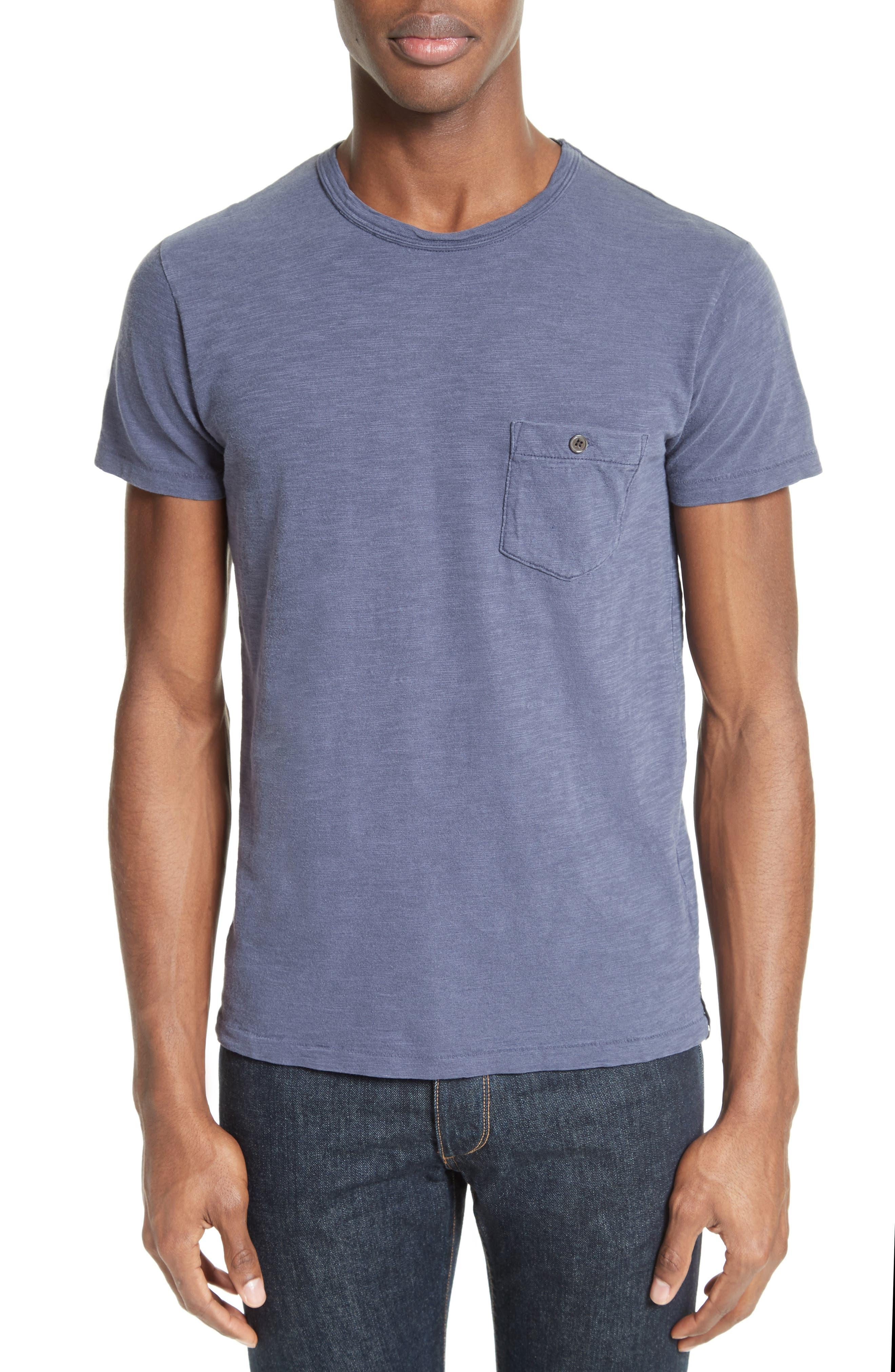 'Classic' Pocket T-Shirt,                             Main thumbnail 3, color,