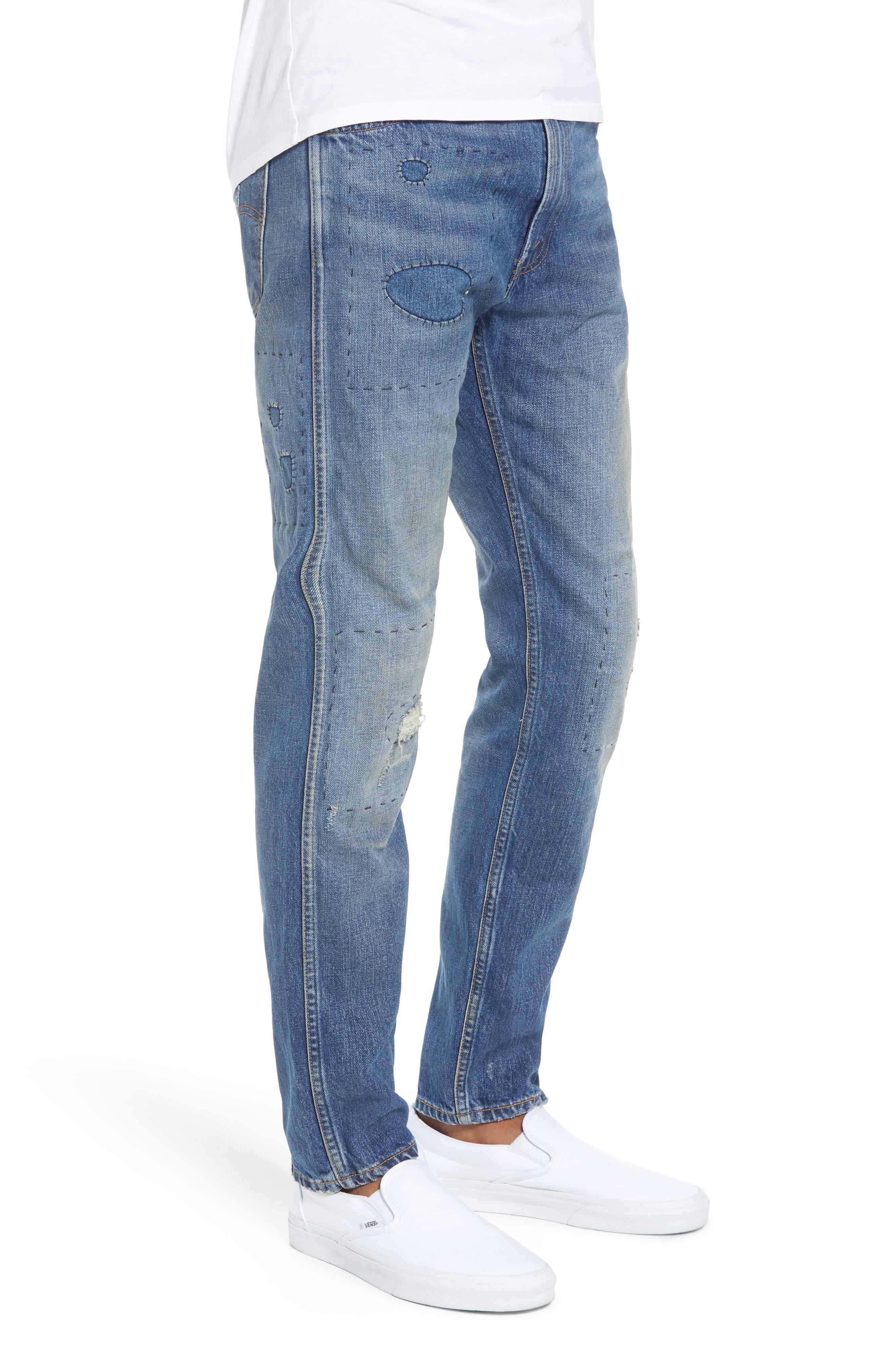 1969 606<sup>™</sup> Slim Fit Jeans,                             Alternate thumbnail 3, color,                             401