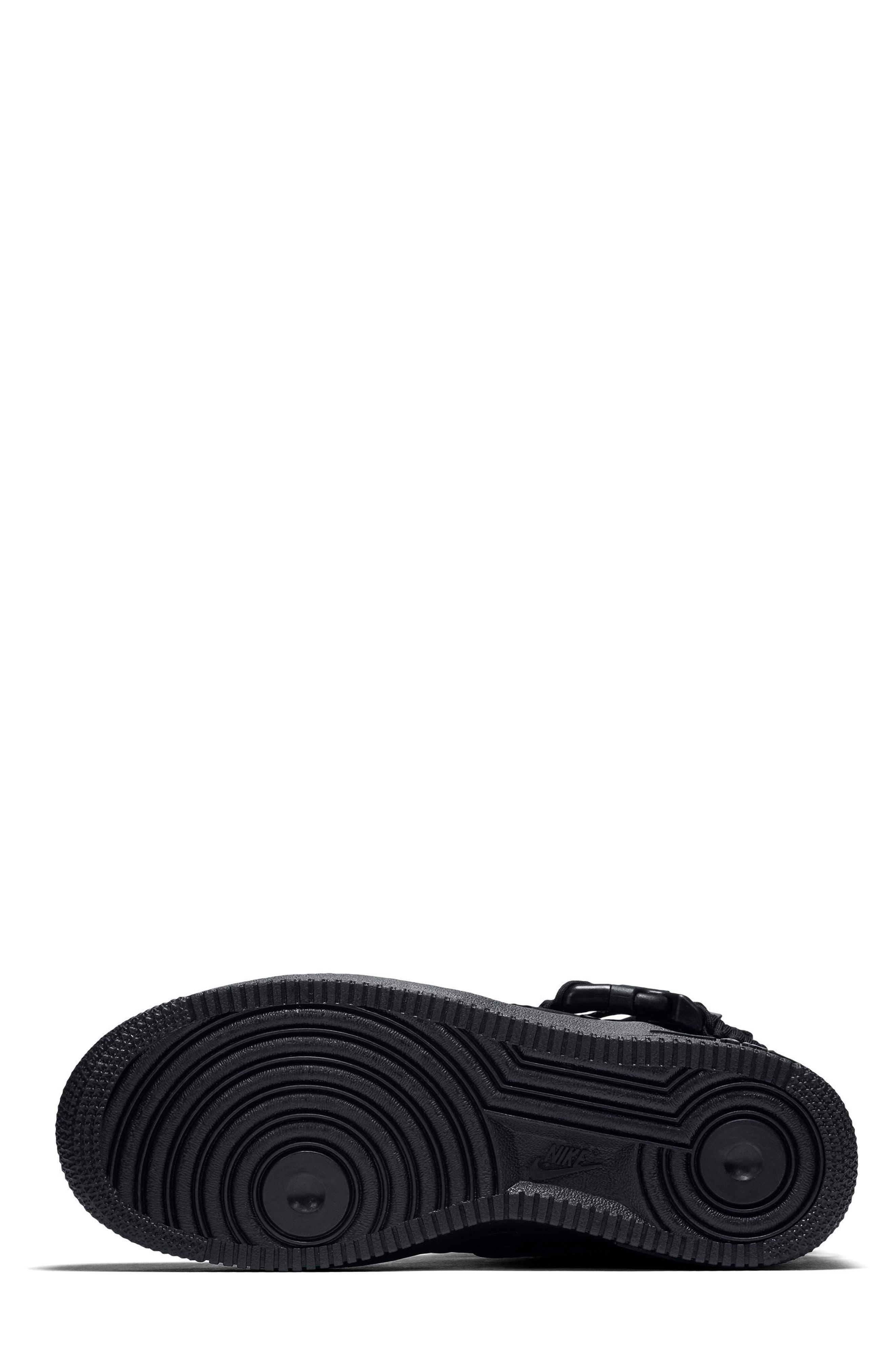 SF Air Force 1 High Top Sneaker,                             Alternate thumbnail 5, color,                             002