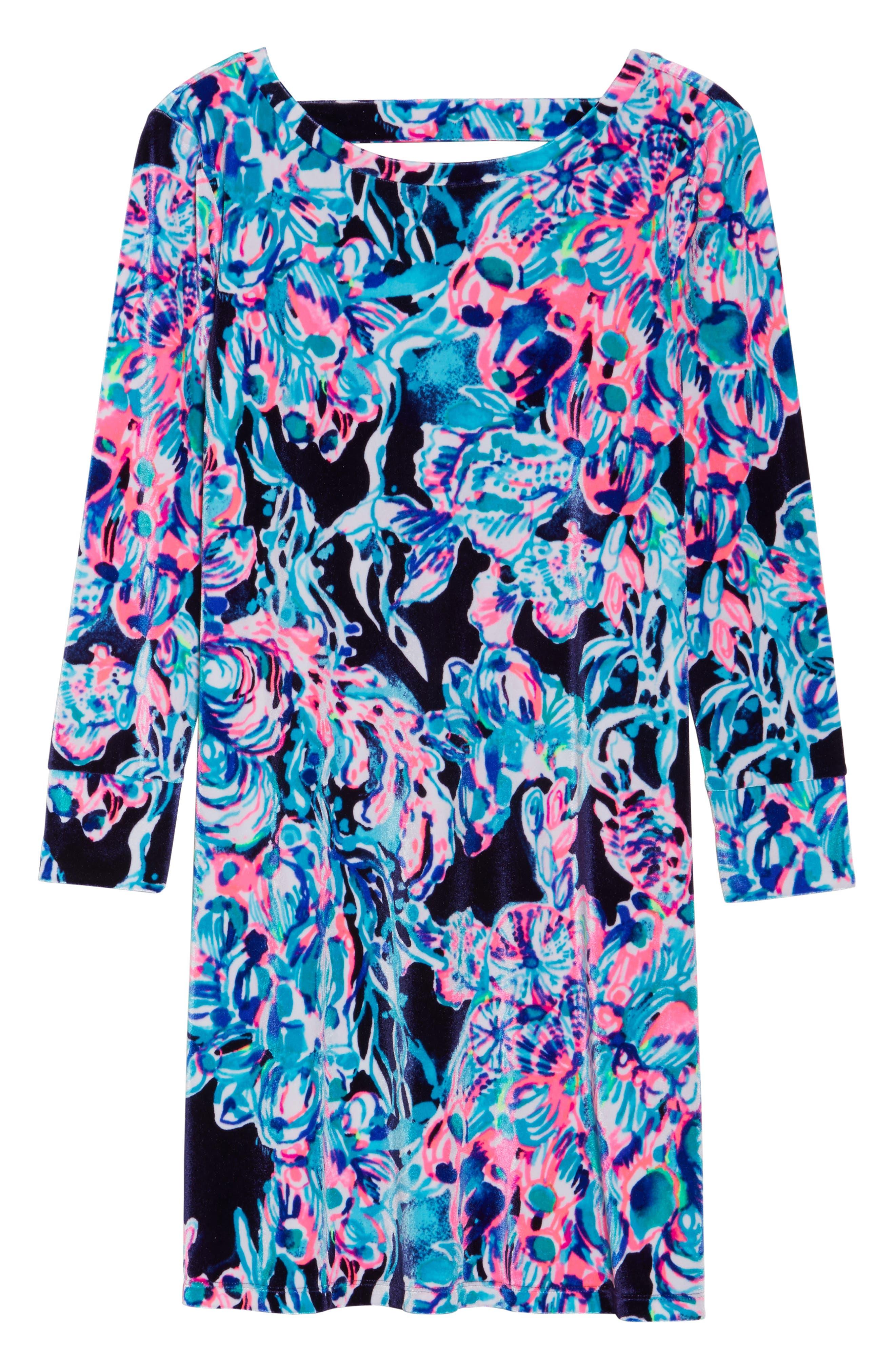 Olive Swing Dress,                             Alternate thumbnail 6, color,                             410