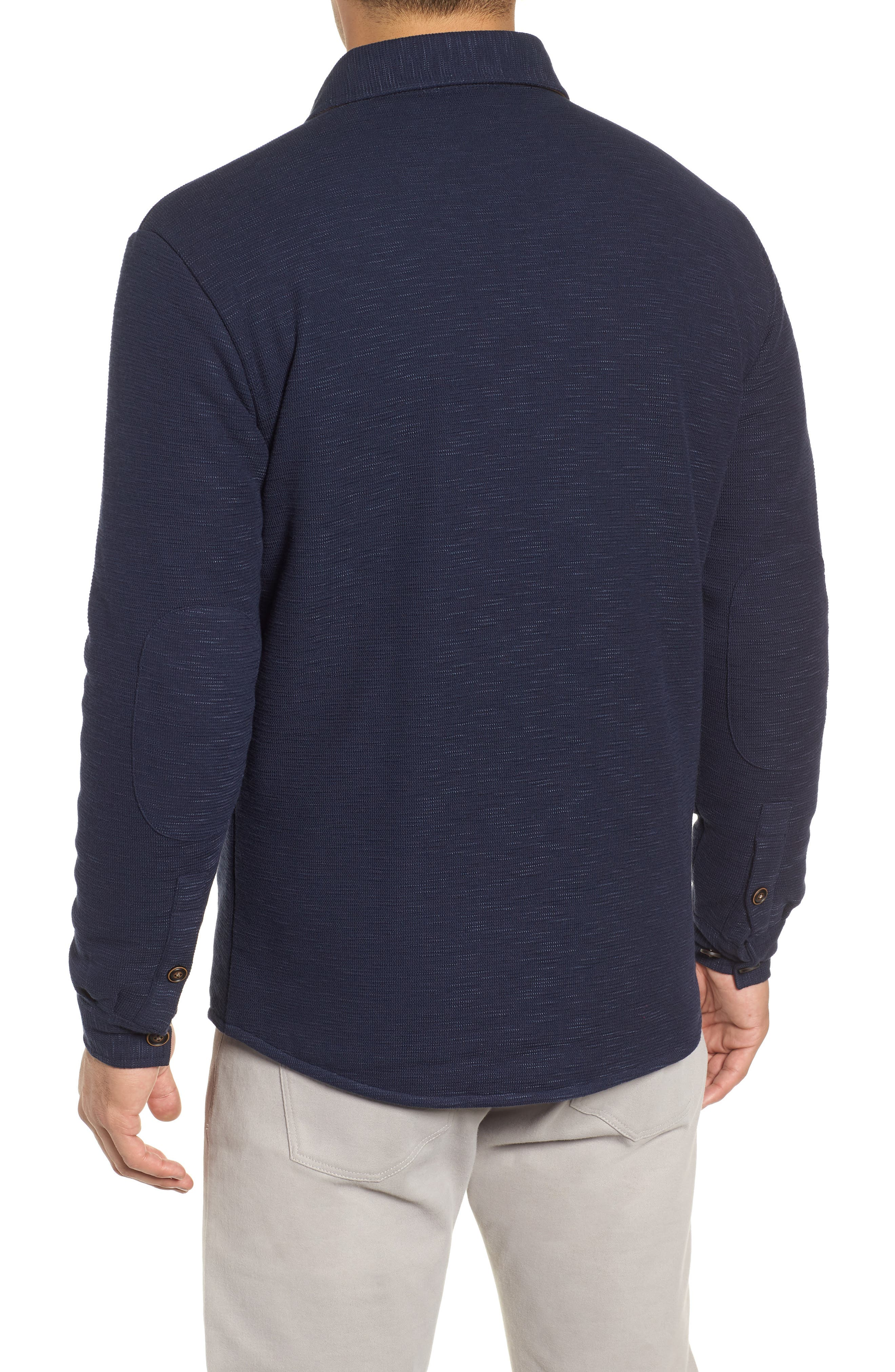 PETER MILLAR,                             Mountainside Shirt Jacket,                             Alternate thumbnail 2, color,                             ATLANTIC BLUE