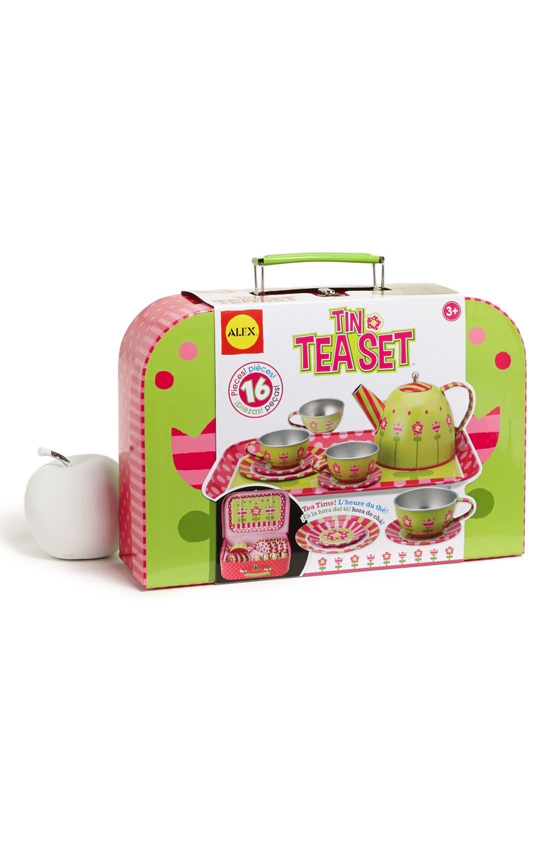 Alex Toys 'Tin Tea' Set,                             Main thumbnail 1, color,                             000