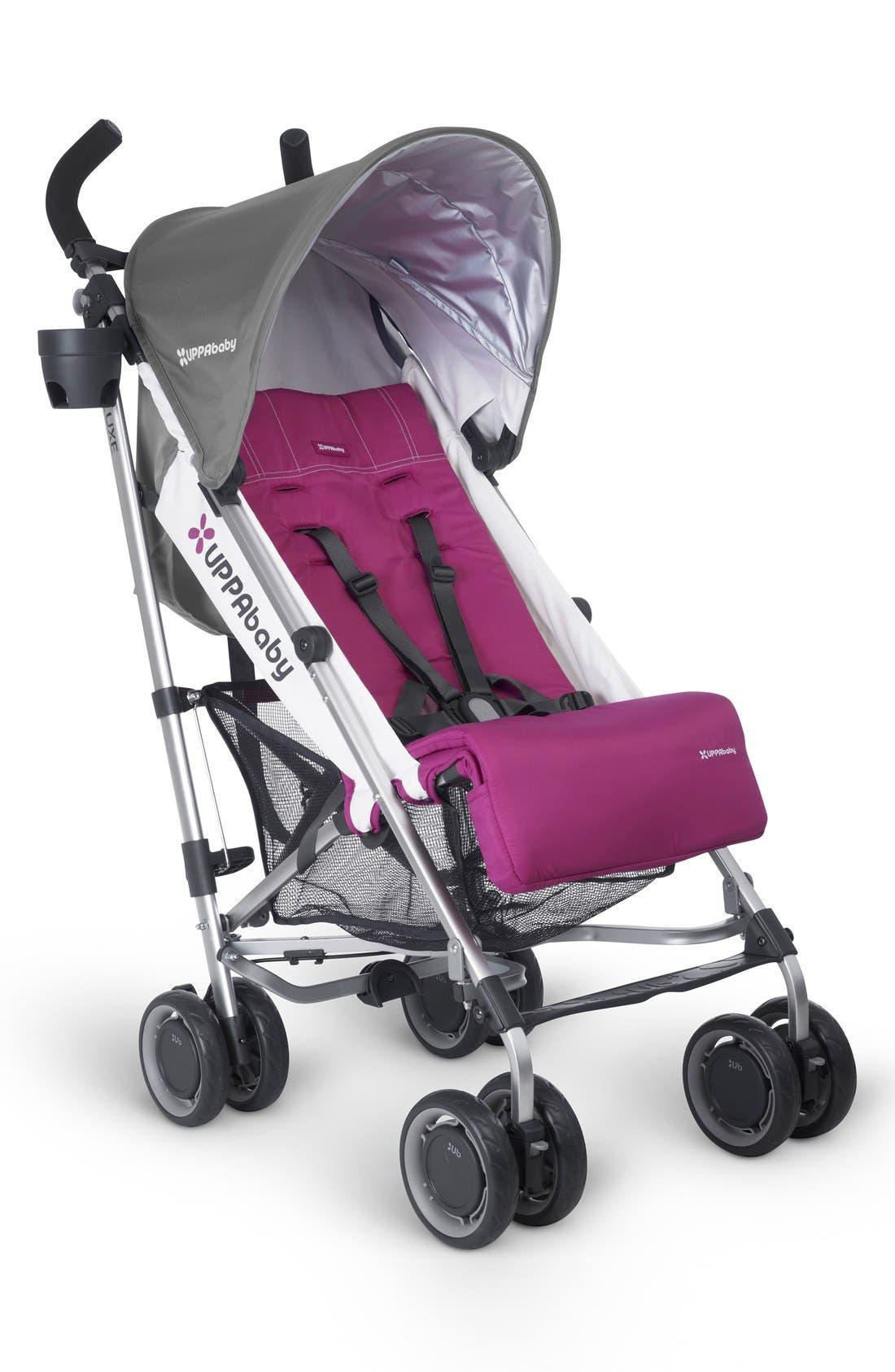 2015 G-LUXE - Aluminum Frame Reclining Umbrella Stroller,                             Main thumbnail 4, color,